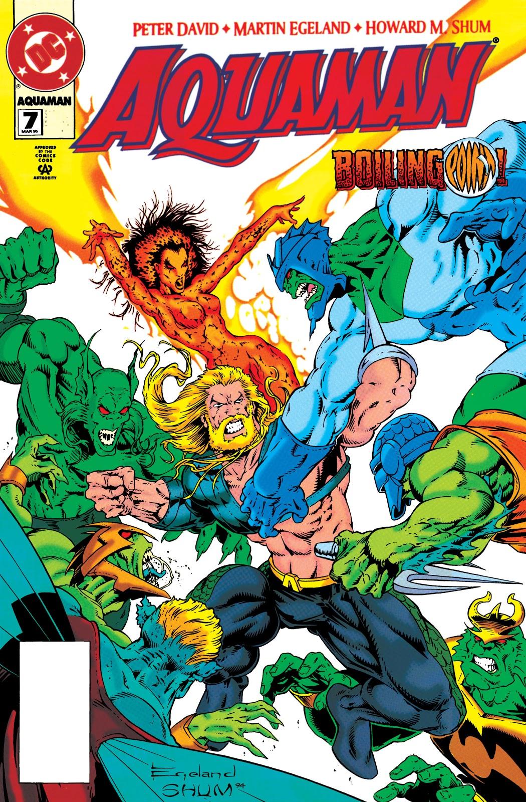 Aquaman (1994) Issue #7 #13 - English 1