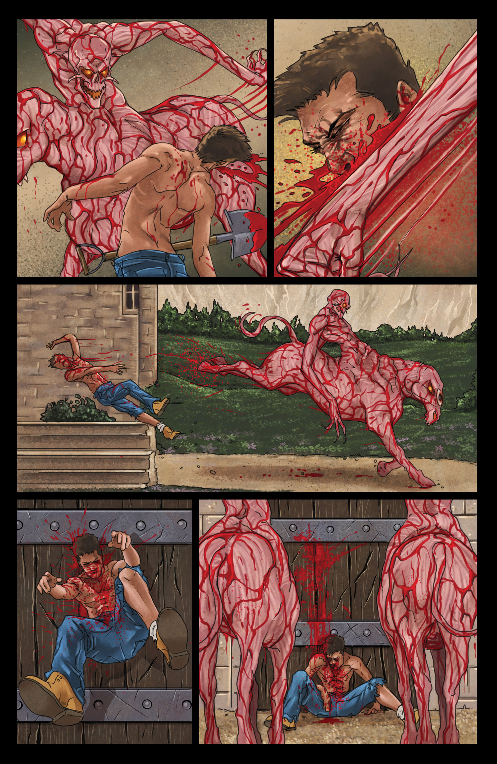 Read online God Is Dead comic -  Issue #44 - 21