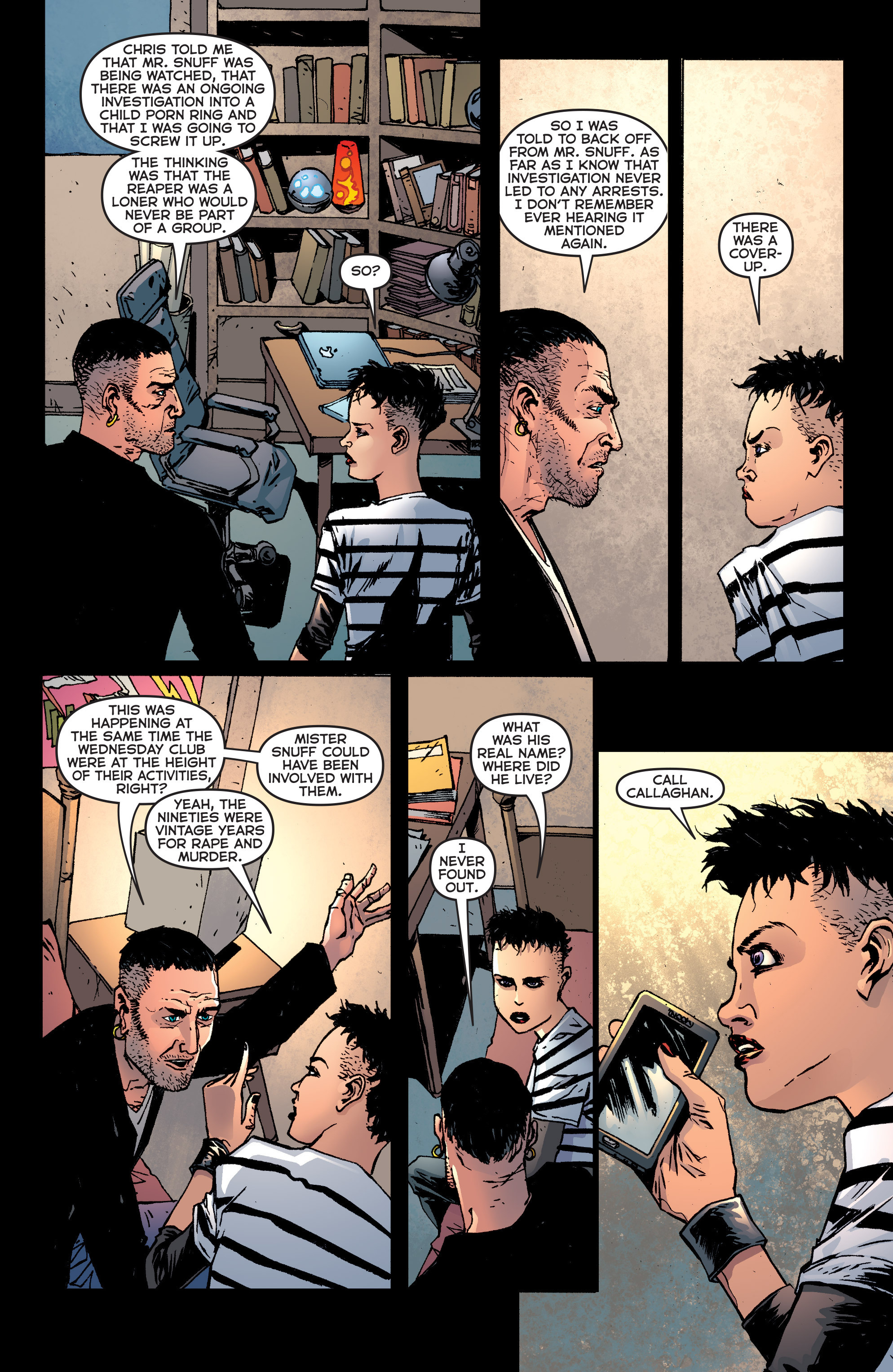 Read online Second Sight comic -  Issue #3 - 19