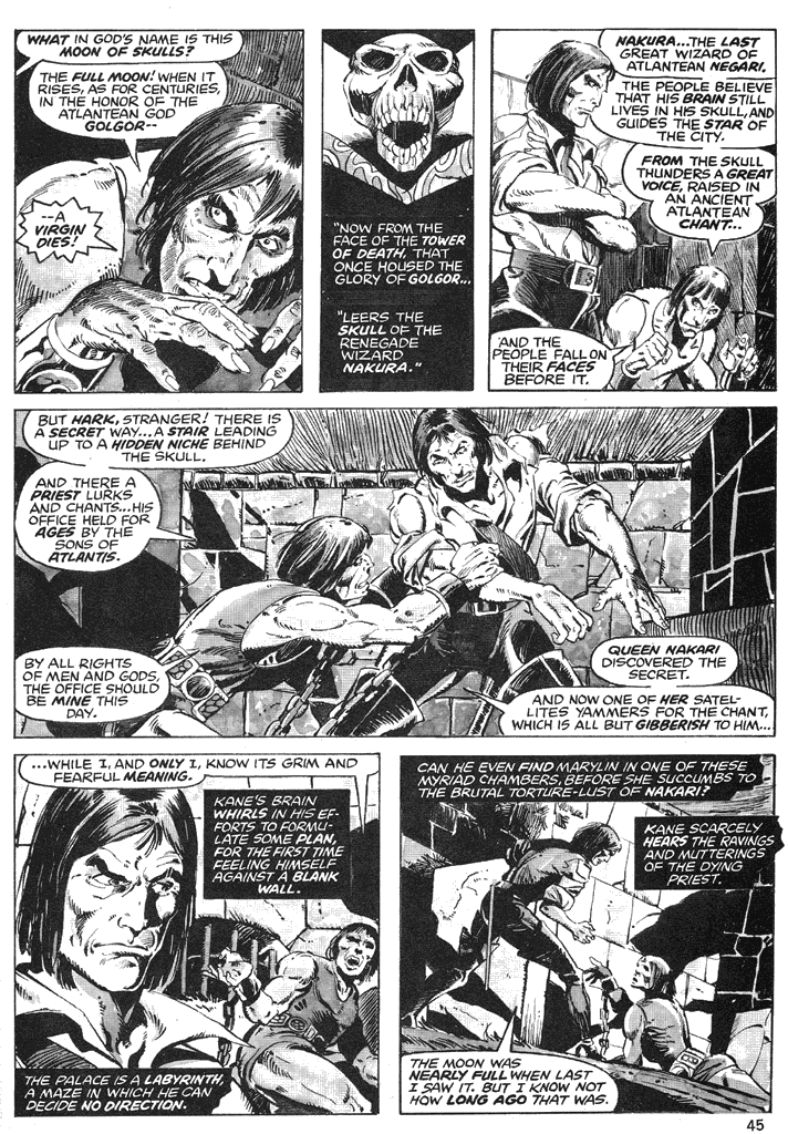 The Savage Sword Of Conan Issue #39 #40 - English 44