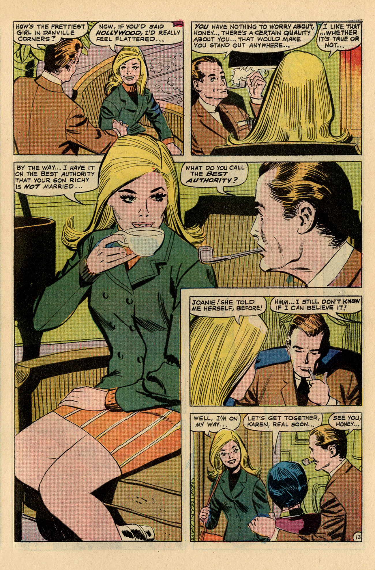 Read online Secret Hearts comic -  Issue #137 - 31