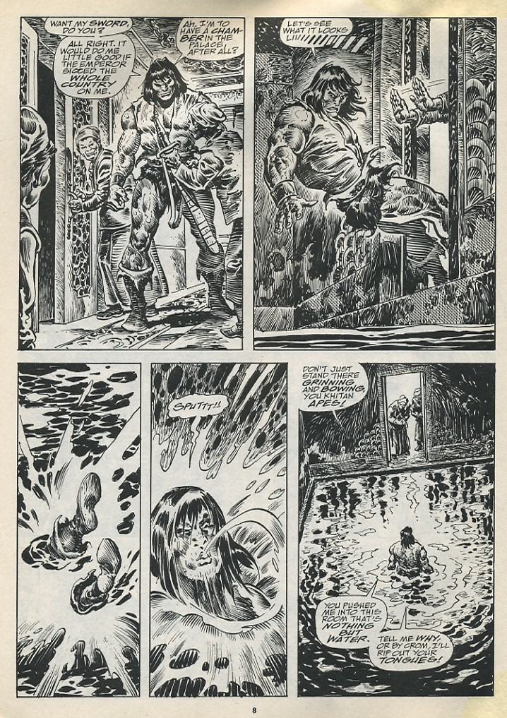 The Savage Sword Of Conan Issue #194 #195 - English 10