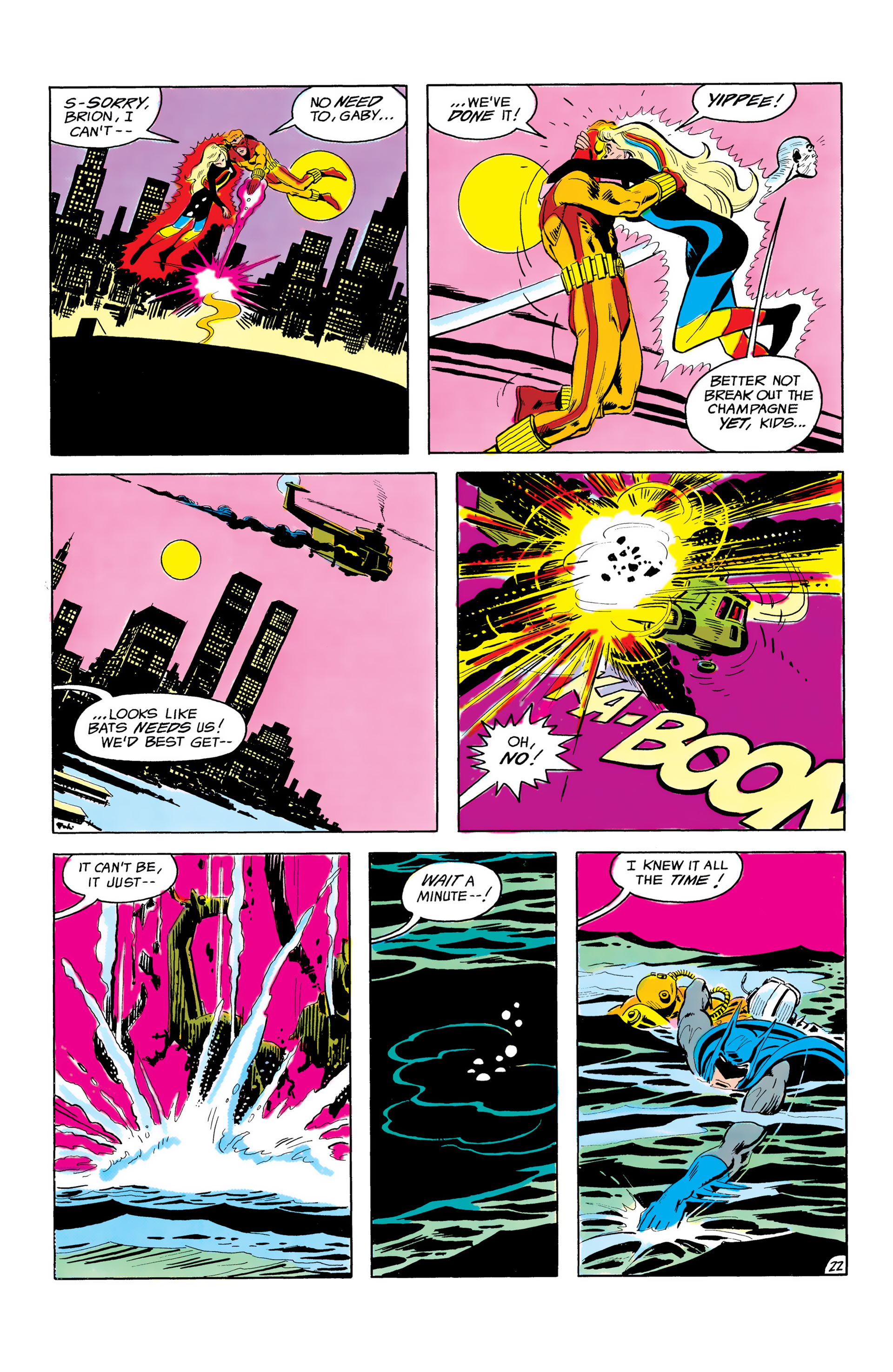 Batman and the Outsiders (1983) 3 Page 22