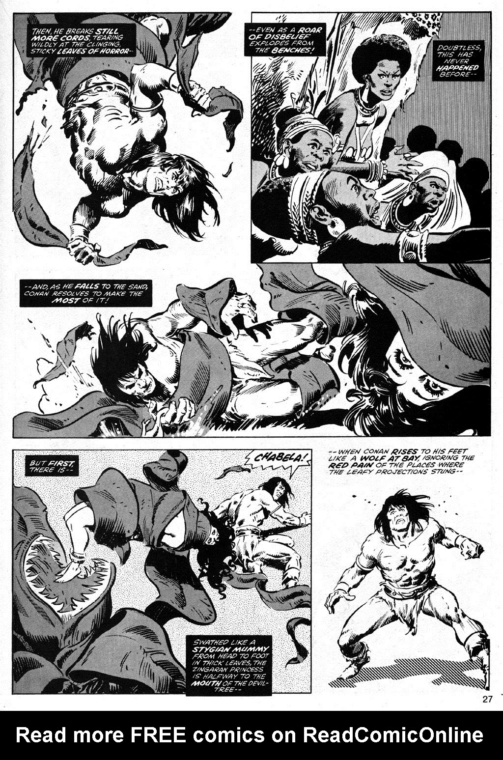The Savage Sword Of Conan Issue #42 #43 - English 27