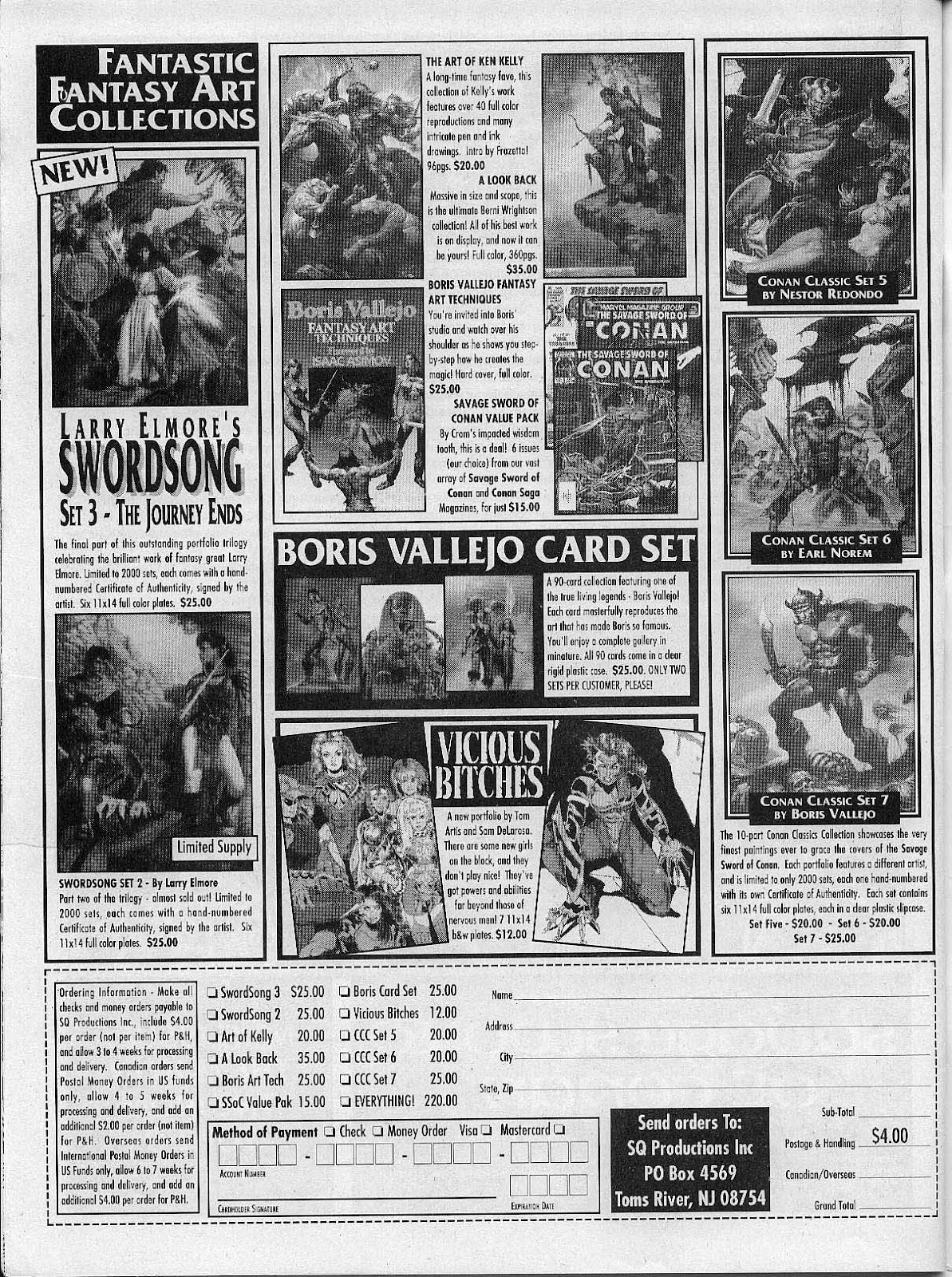 The Savage Sword Of Conan Issue #200 #201 - English 66