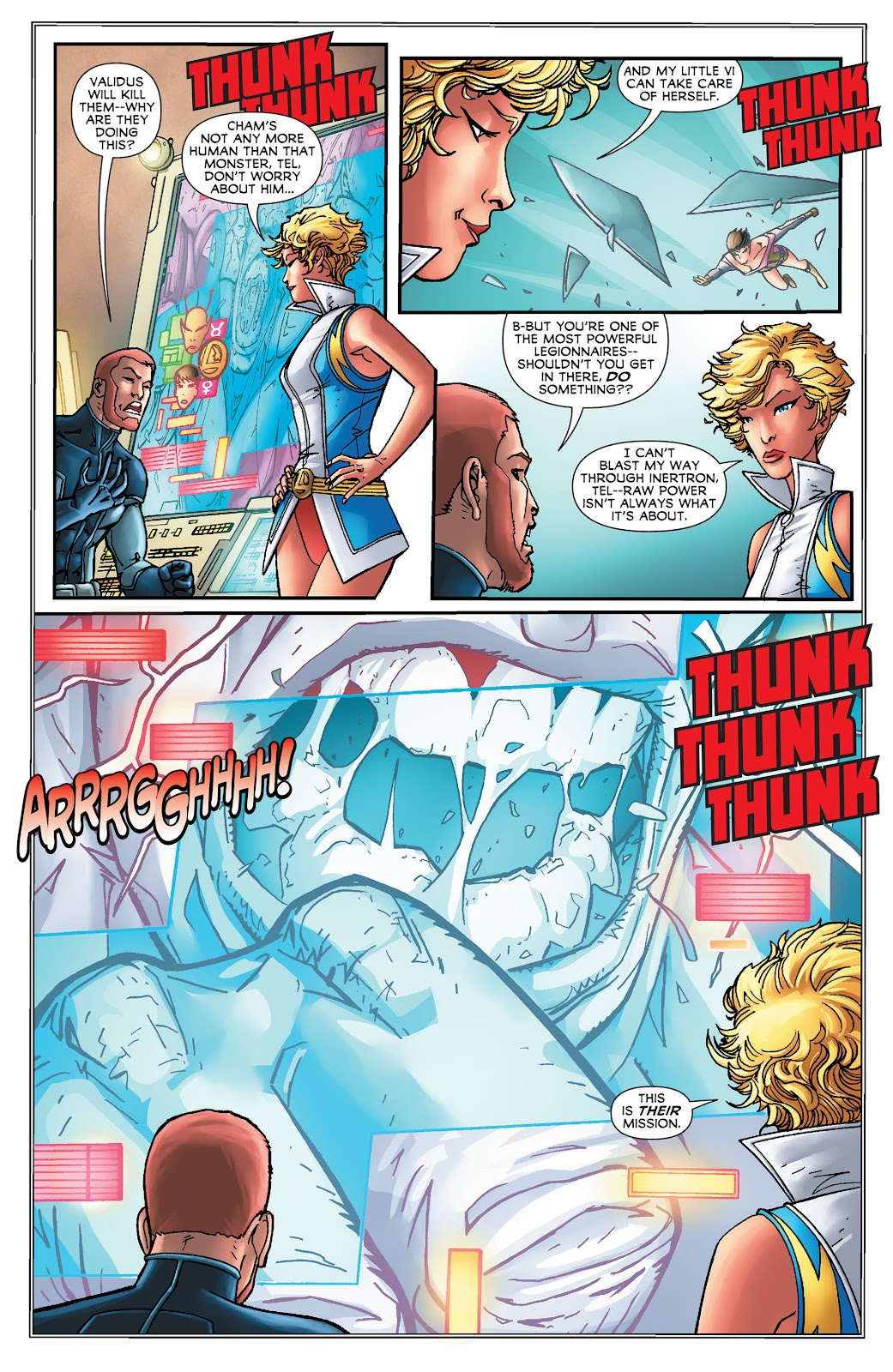 Legion of Super-Heroes (2011) Issue #16 #17 - English 10