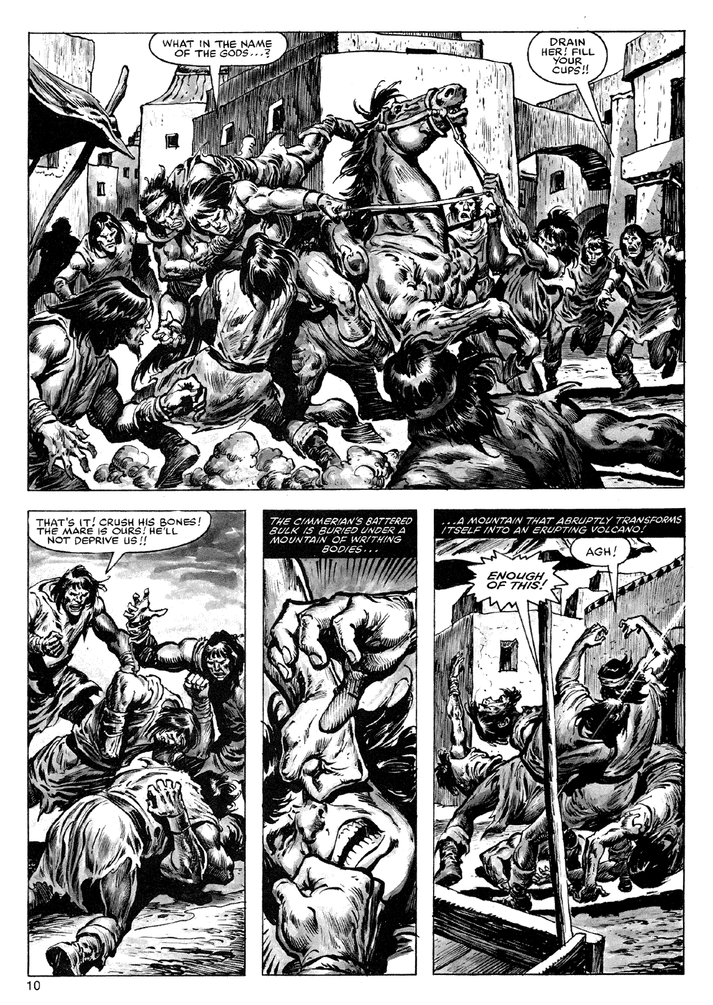 The Savage Sword Of Conan Issue #72 #73 - English 10