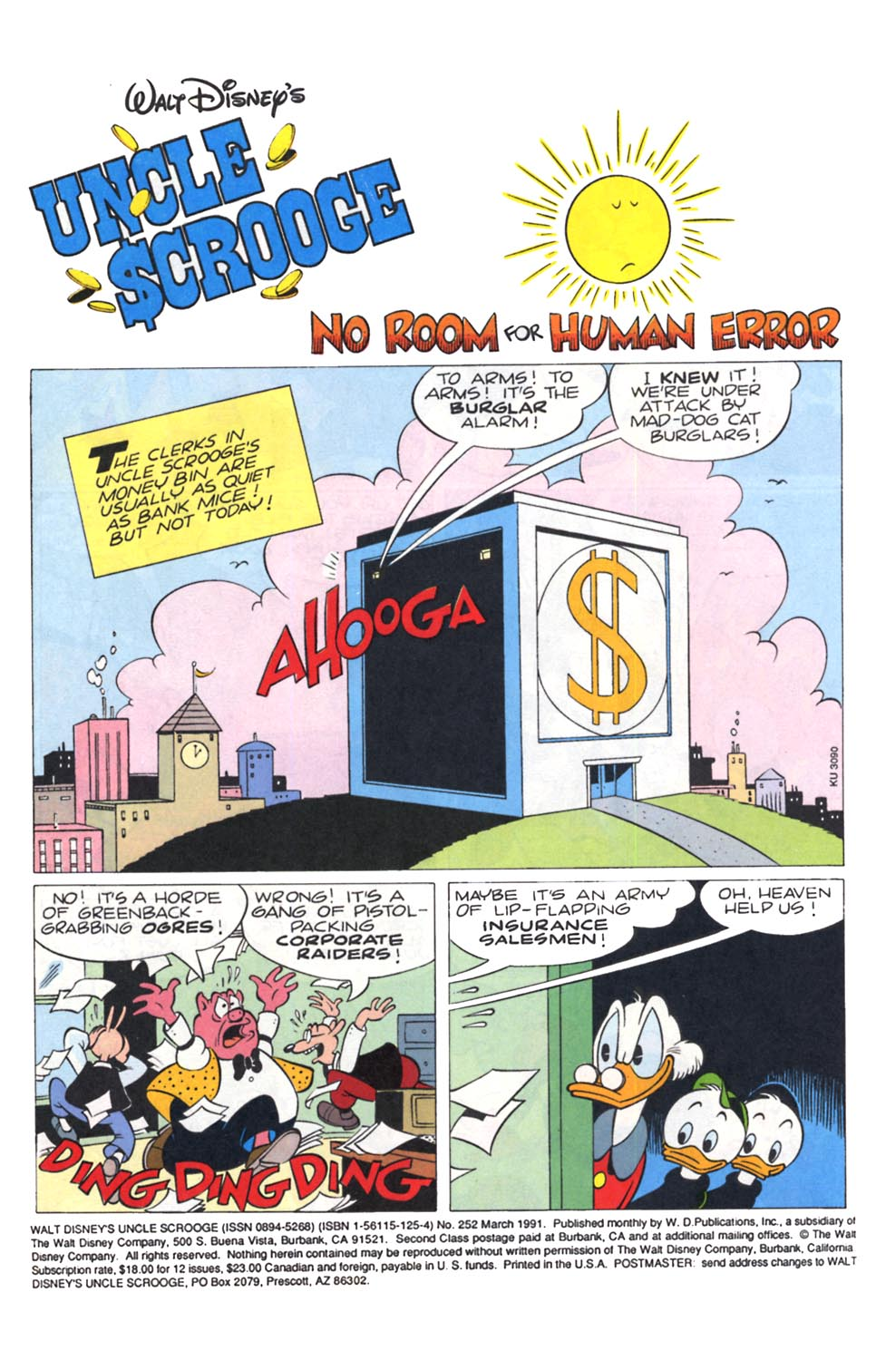 Uncle Scrooge (1953) Issue #252 #252 - English 2
