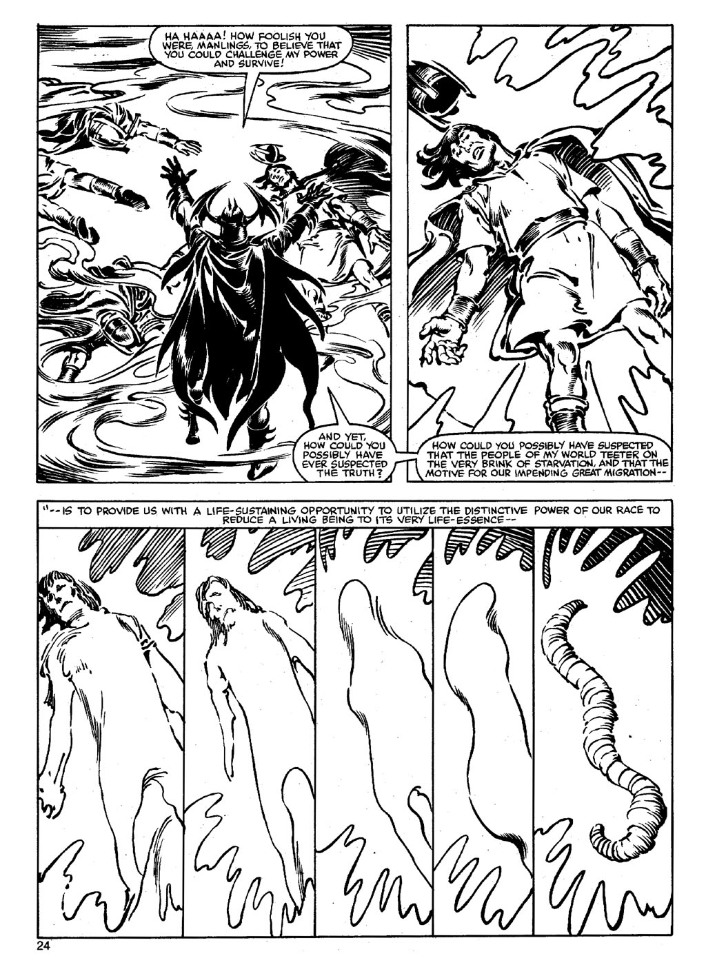The Savage Sword Of Conan Issue #90 #91 - English 23