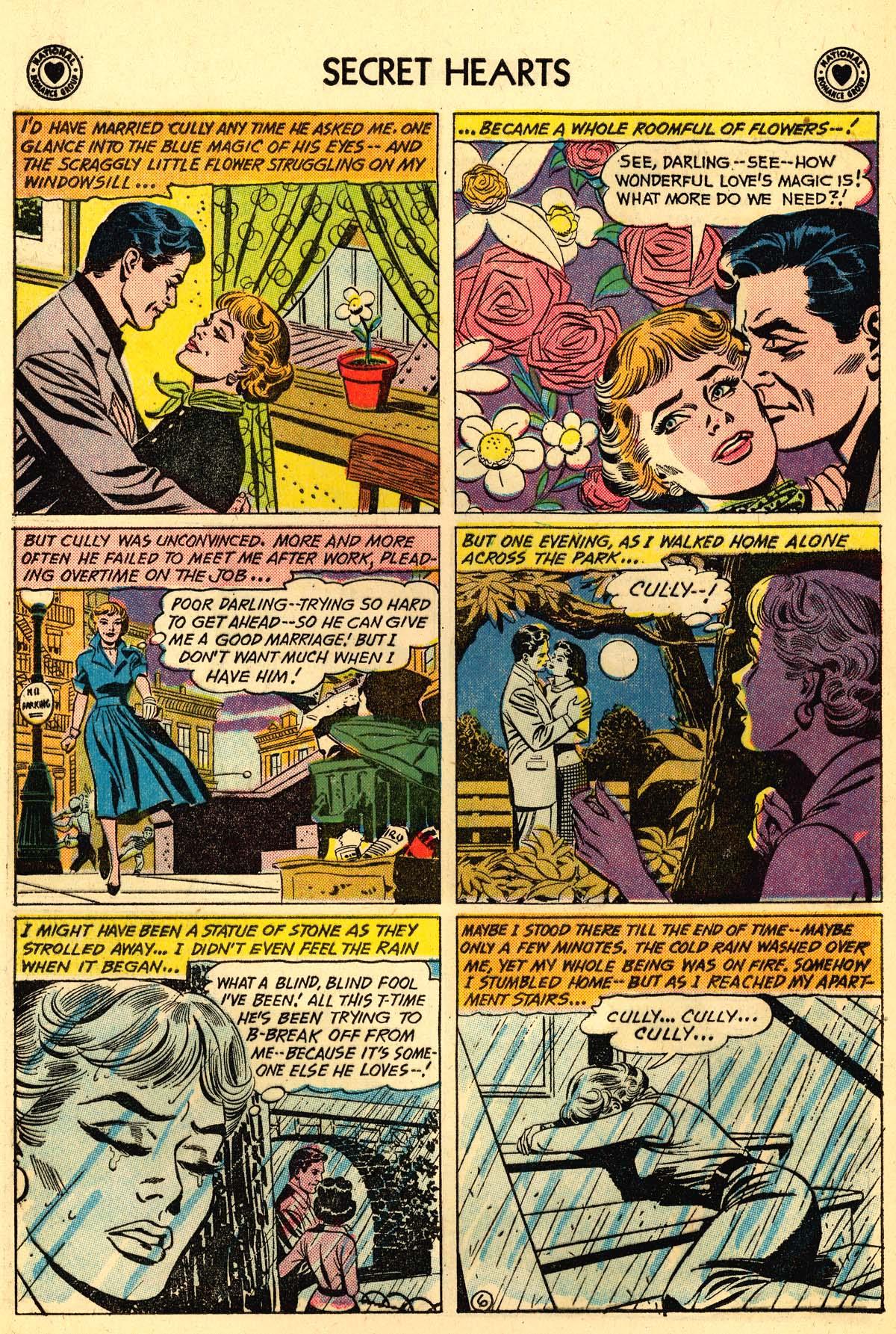 Read online Secret Hearts comic -  Issue #59 - 32