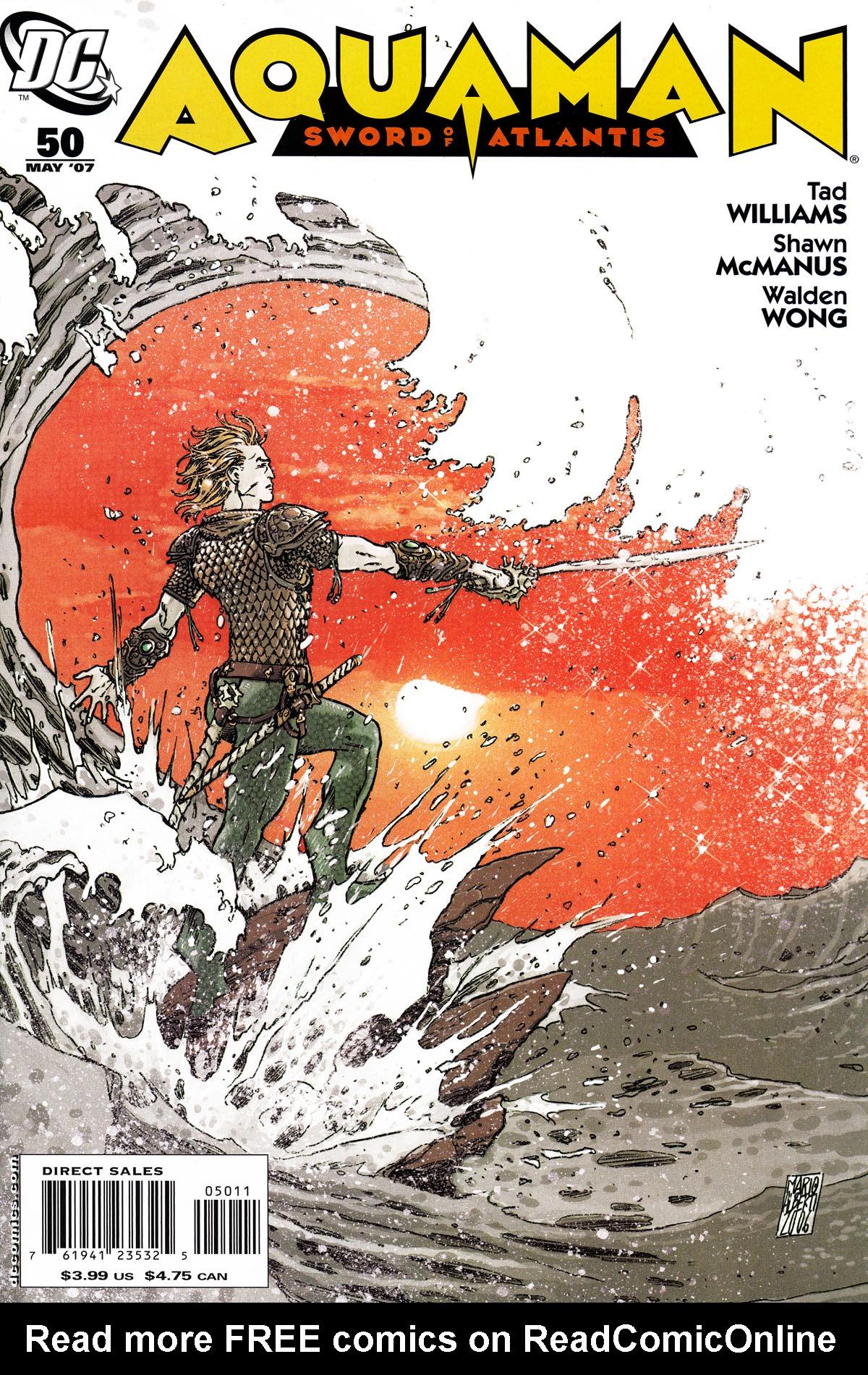 Aquaman: Sword of Atlantis 50 Page 1