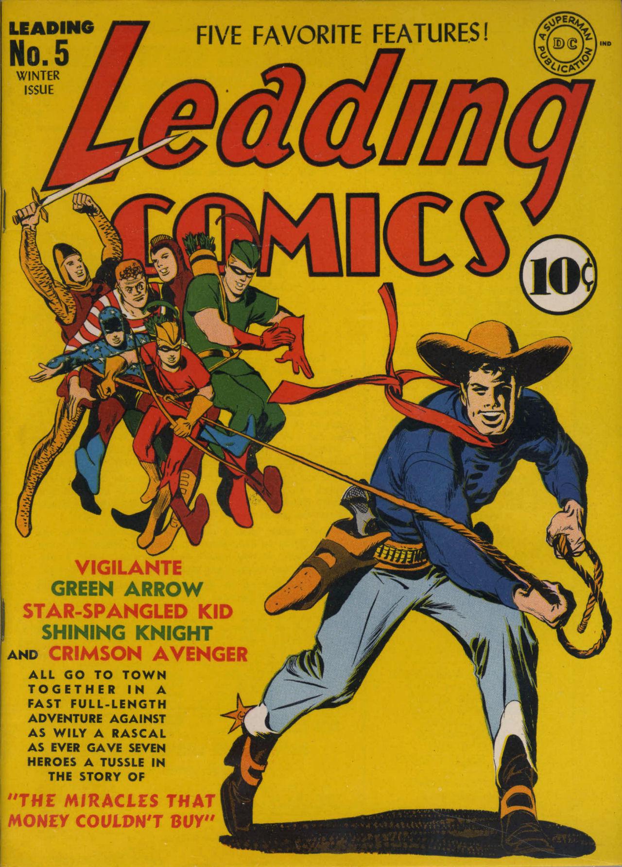 Leading Comics 5 Page 1
