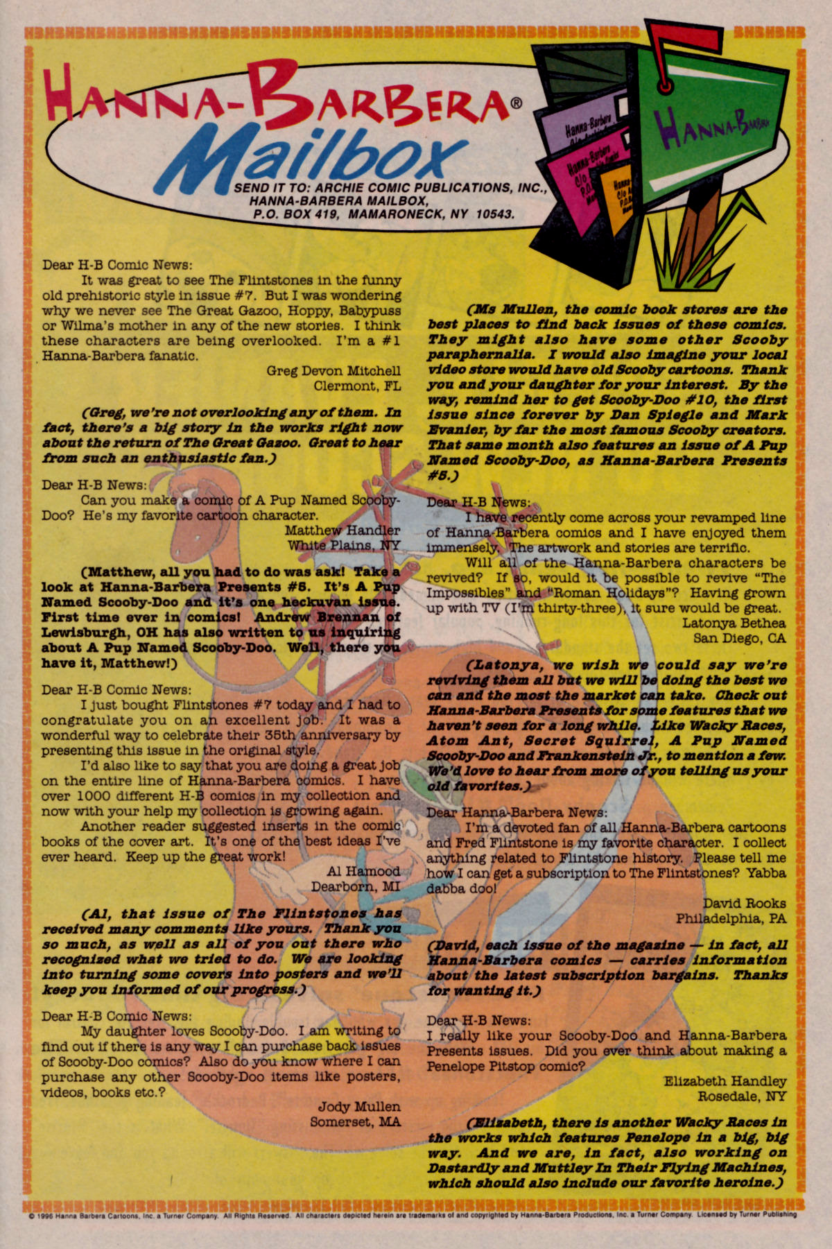 Read online Scooby-Doo (1995) comic -  Issue #10 - 24
