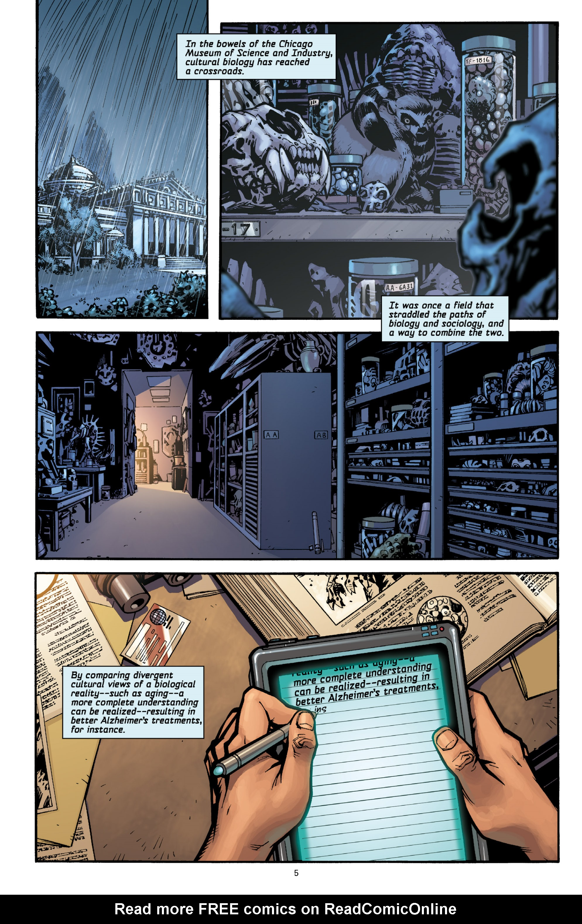 Aliens (2009) TPB Page 4