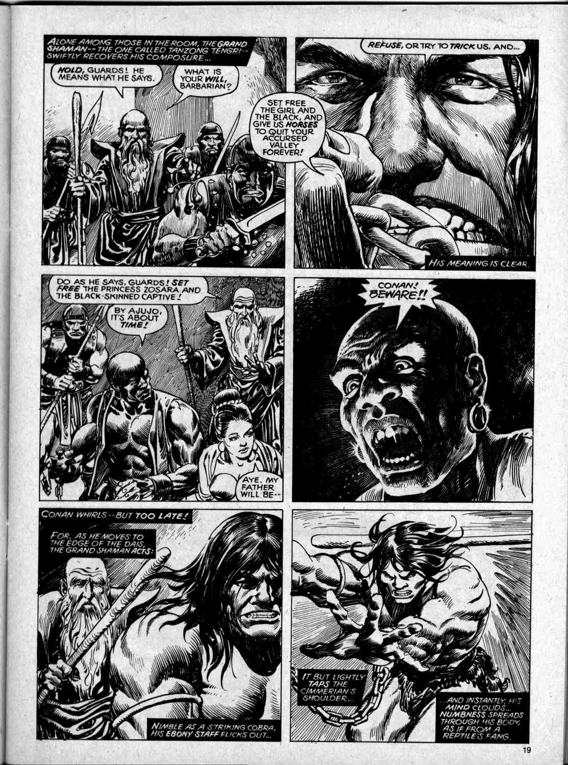 The Savage Sword Of Conan Issue #59 #60 - English 19