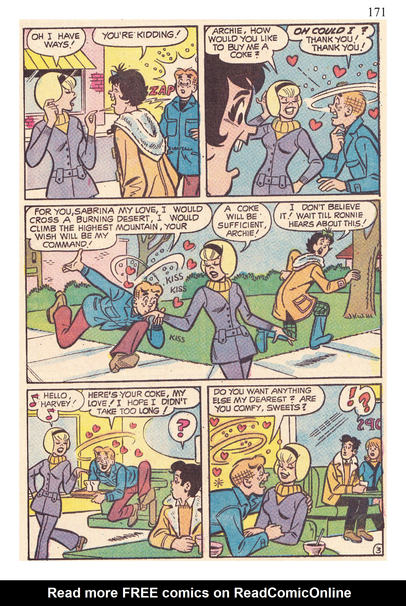 Read online The Best of Archie Comics comic -  Issue # TPB 2 (Part 1) - 173