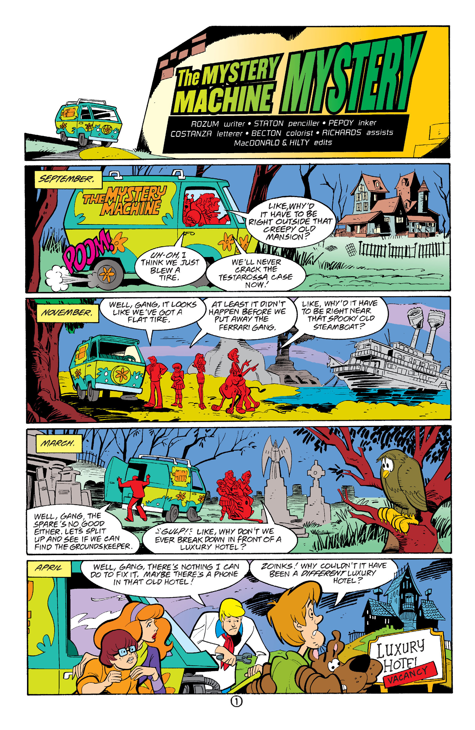 Read online Scooby-Doo (1997) comic -  Issue #36 - 14