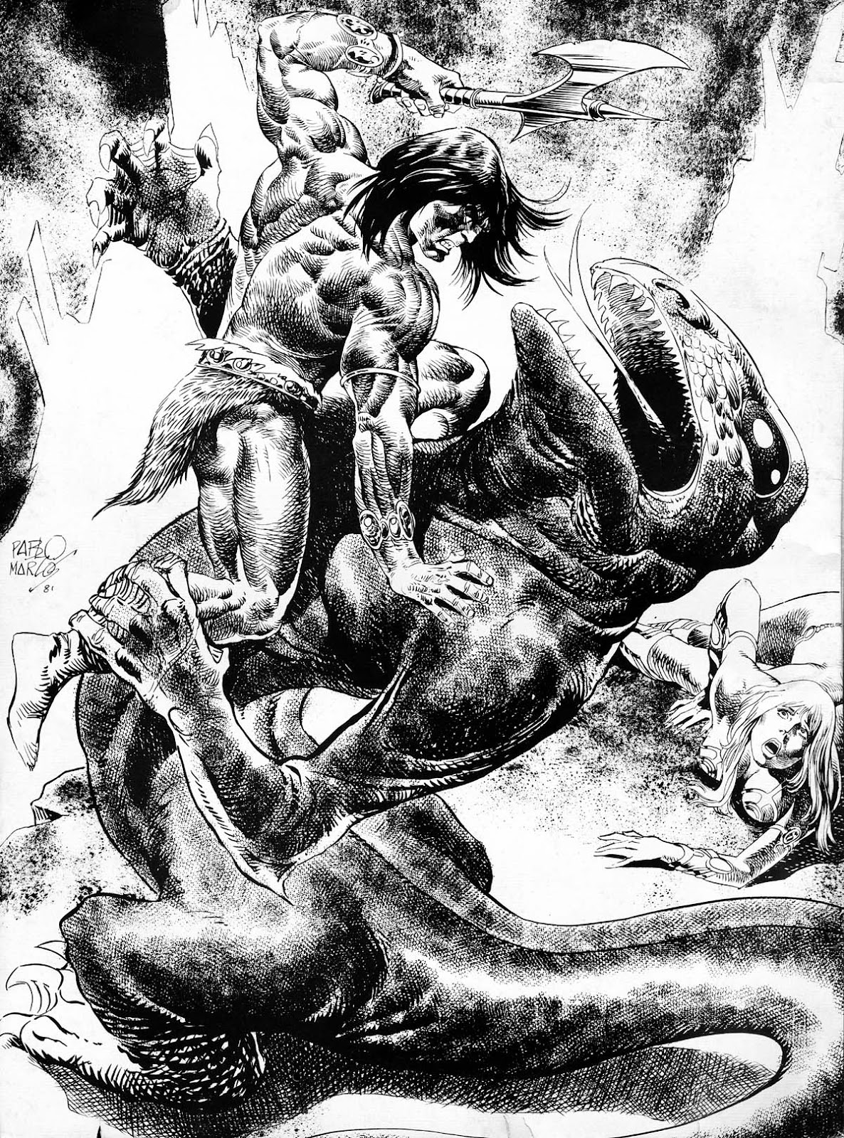 The Savage Sword Of Conan Issue #77 #78 - English 2