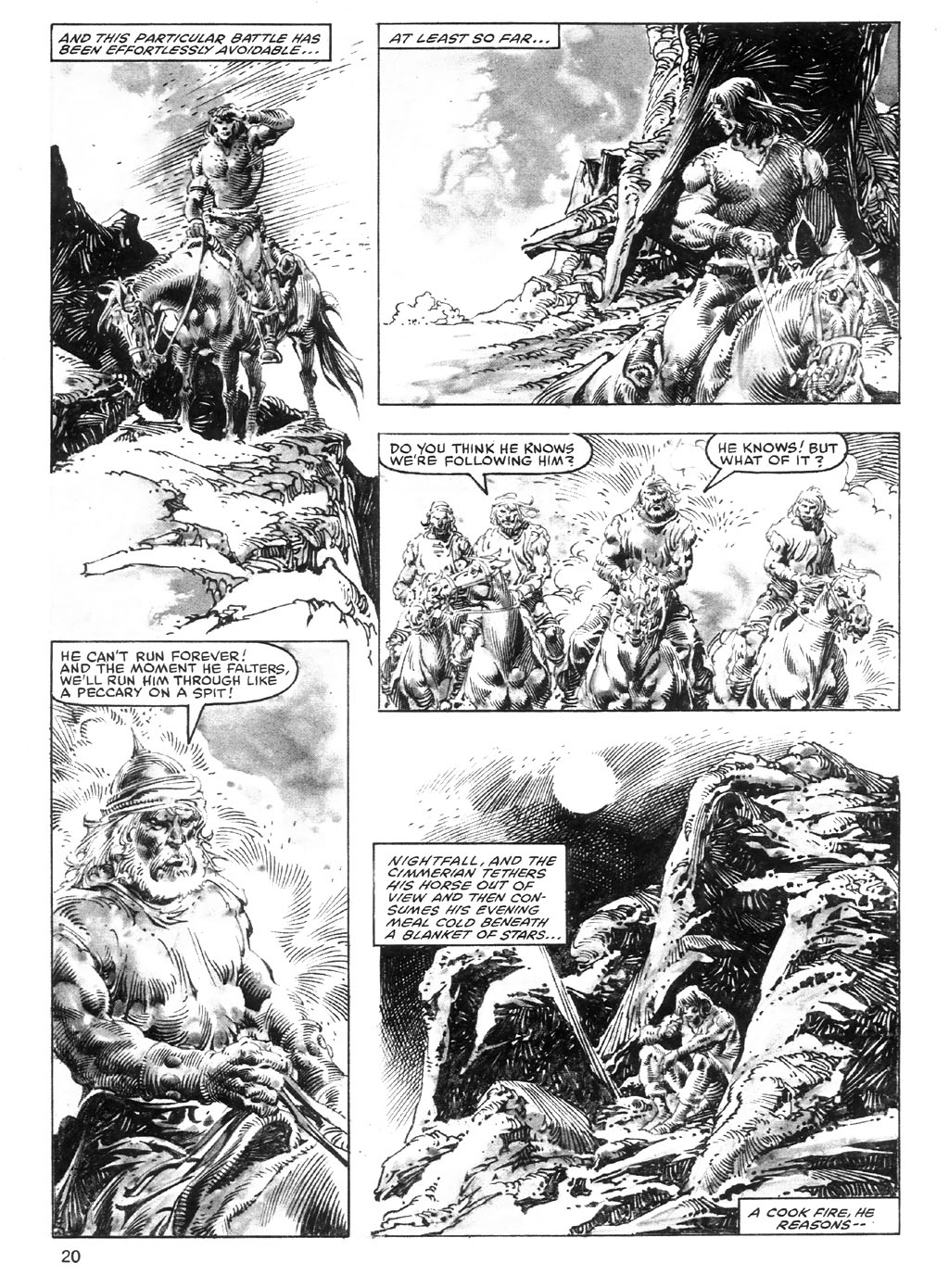 The Savage Sword Of Conan Issue #98 #99 - English 20