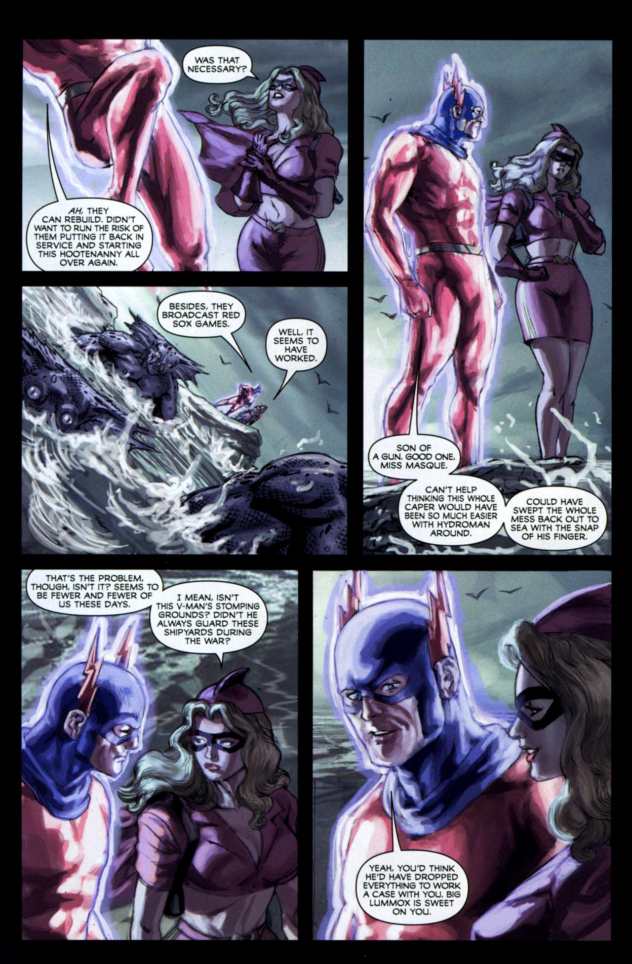 Read online Masquerade comic -  Issue #2 - 15