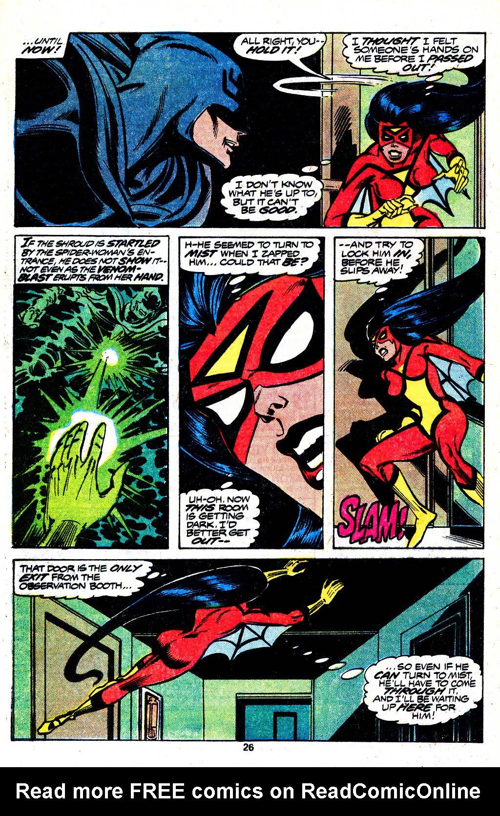 Spider-Woman (1978) #13 #38 - English 15