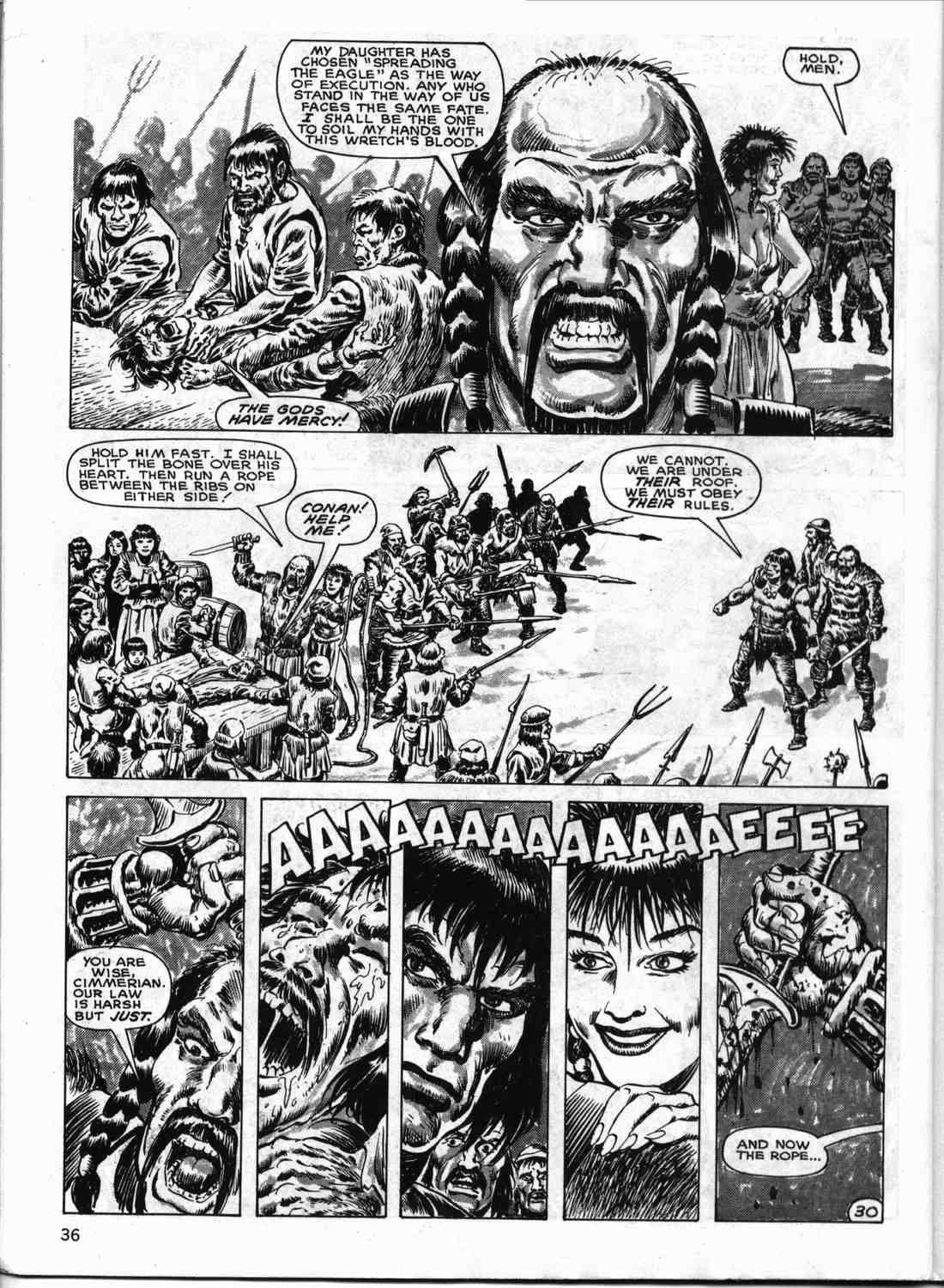 The Savage Sword Of Conan Issue #133 #134 - English 35