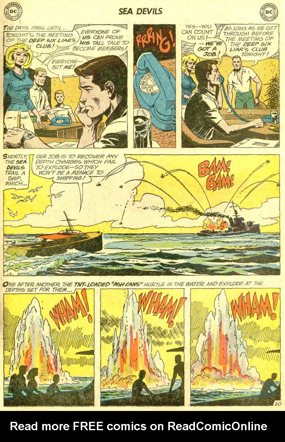 Read online Sea Devils comic -  Issue #10 - 28