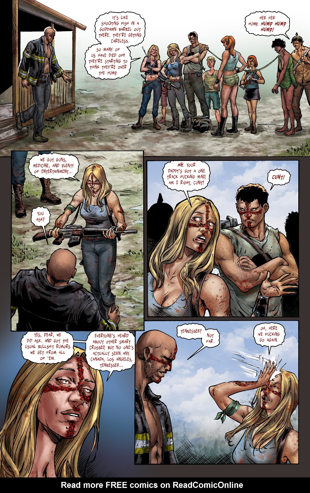 Crossed: Badlands Issue #100 #103 - English 7