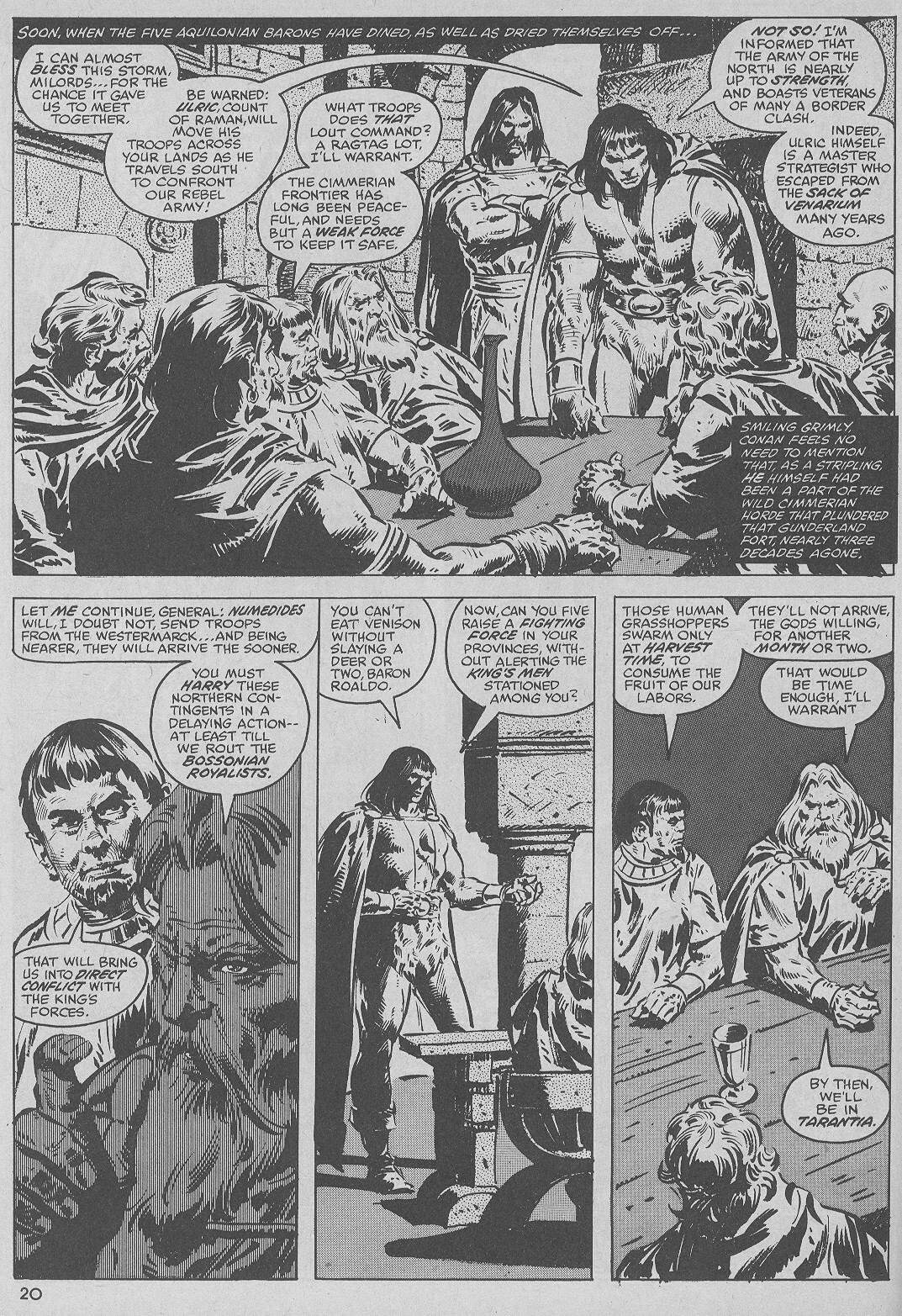 The Savage Sword Of Conan Issue #51 #52 - English 20