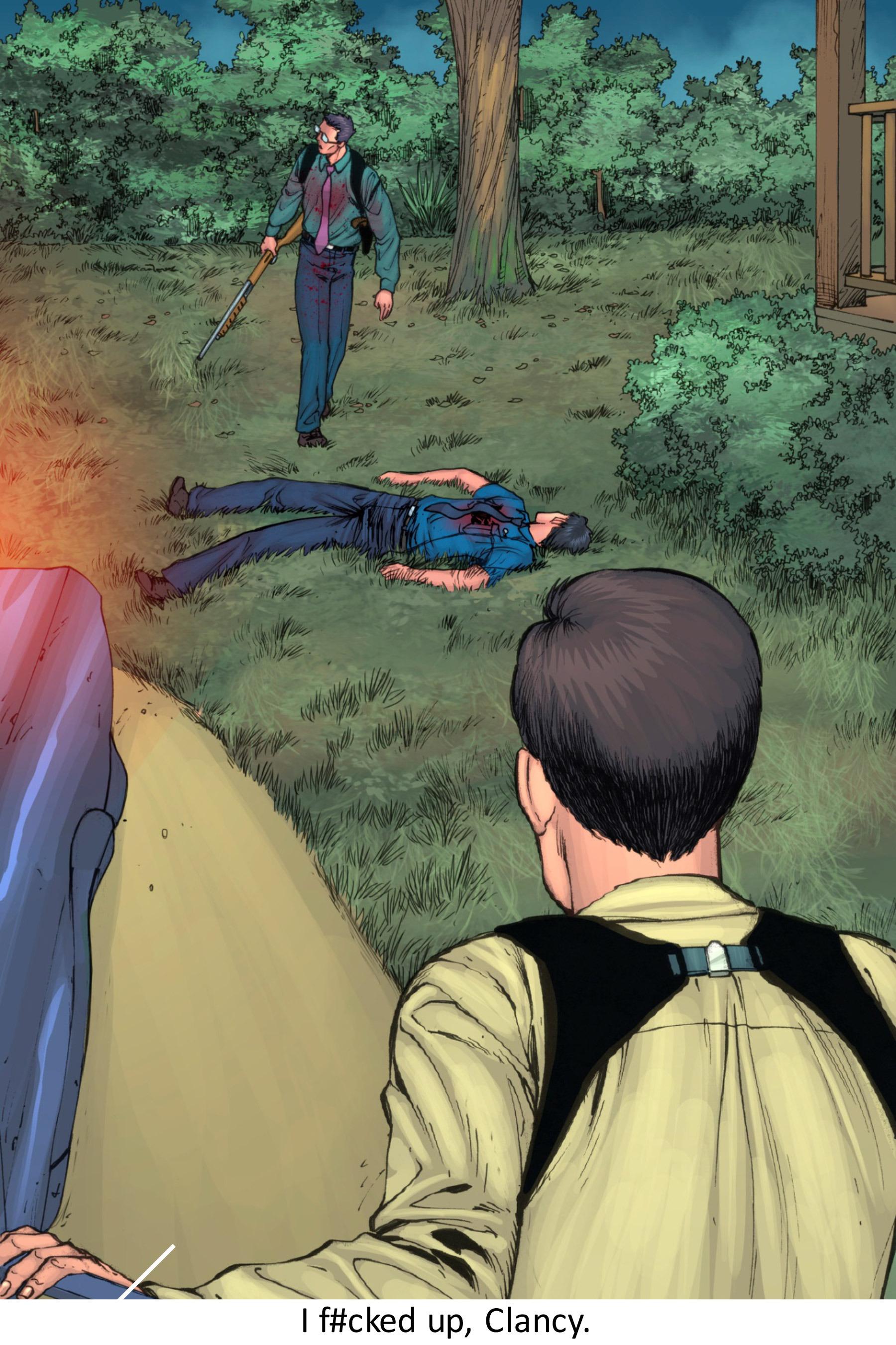 Read online Z-Men comic -  Issue #3 - 137