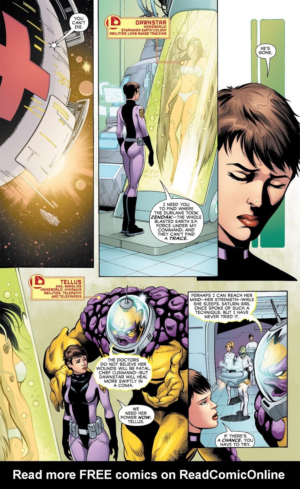 Legion of Super-Heroes (2010) Issue #9 #10 - English 13
