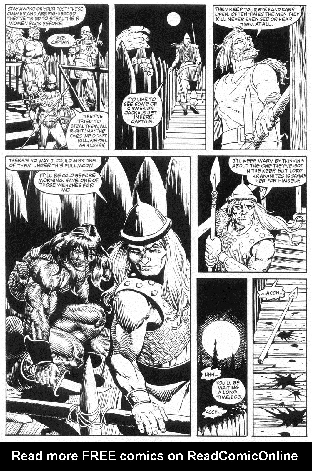 The Savage Sword Of Conan Issue #157 #158 - English 8