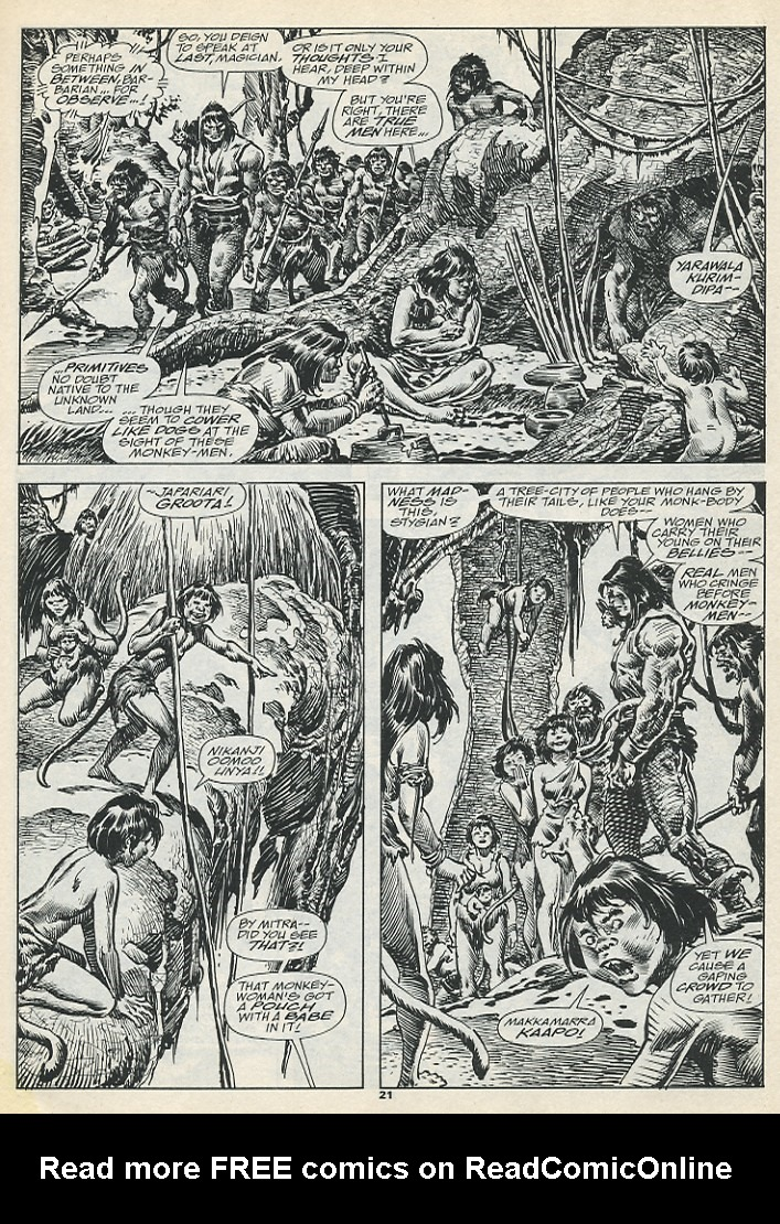 The Savage Sword Of Conan Issue #193 #194 - English 23