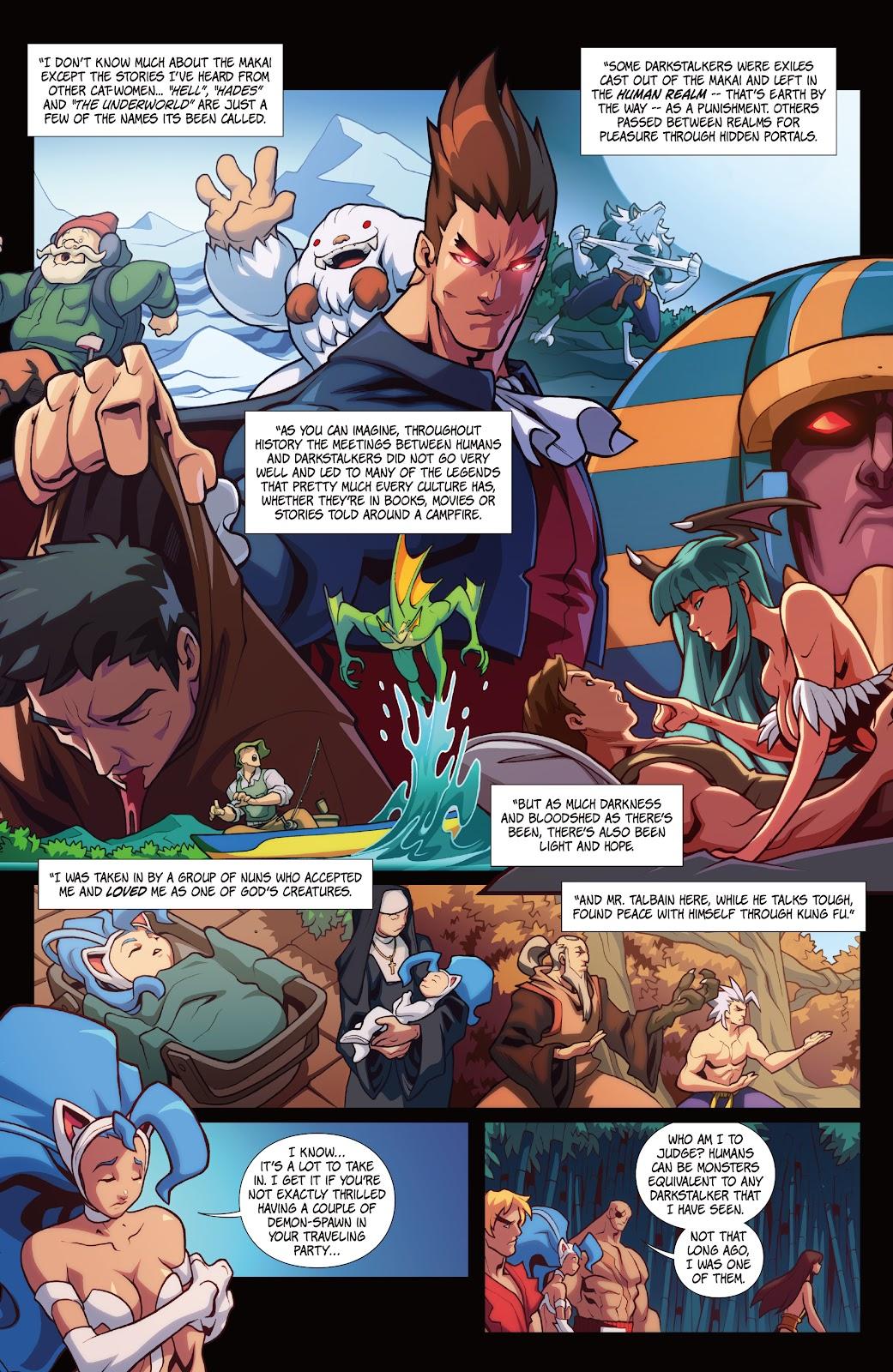 Street Fighter VS Darkstalkers Issue #2 #3 - English 9