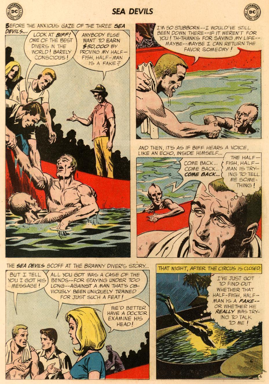 Read online Sea Devils comic -  Issue #8 - 7