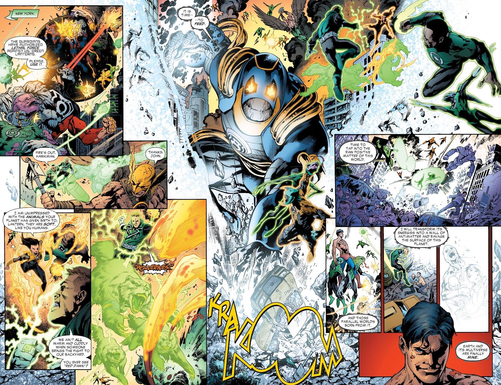 Green Lantern: The Sinestro Corps War Full #1 - English 254