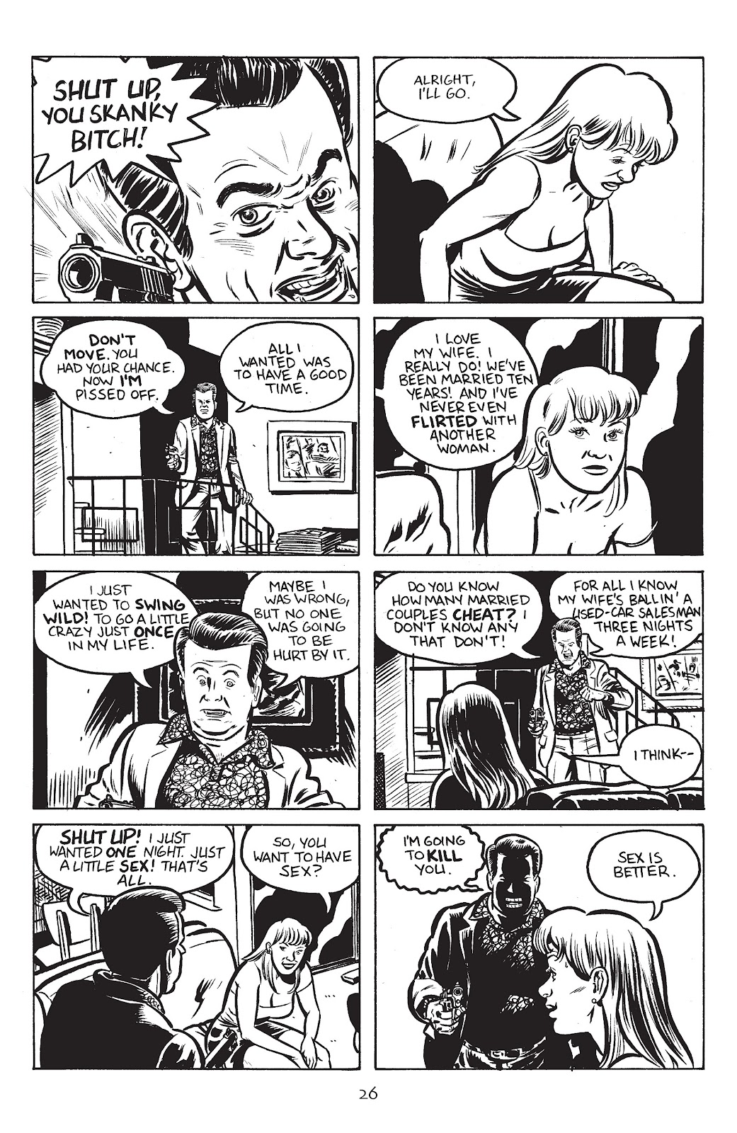 Stray Bullets Issue #22 #22 - English 28