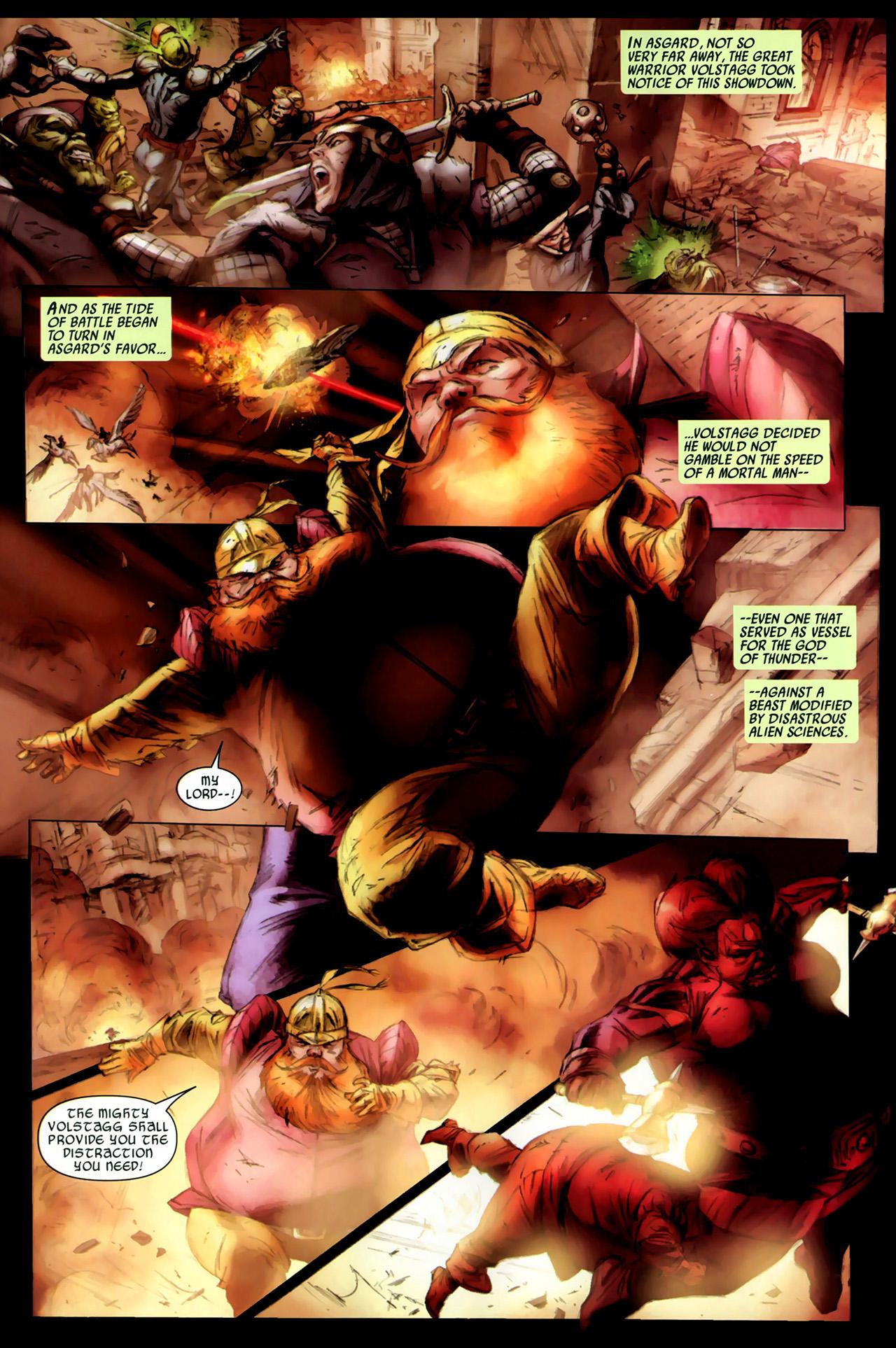 Read online Secret Invasion: Thor comic -  Issue #3 - 4