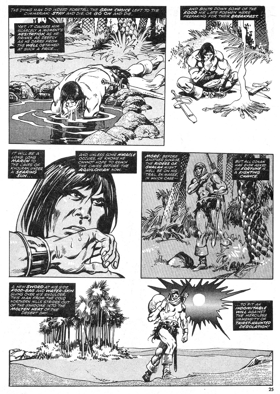 The Savage Sword Of Conan Issue #28 #29 - English 25