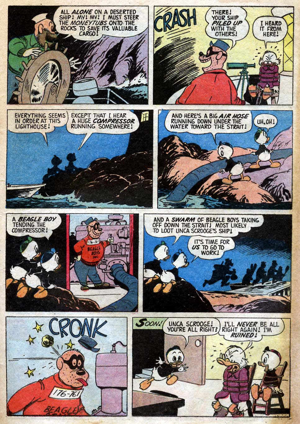 Uncle Scrooge (1953) Issue #23 #23 - English 21