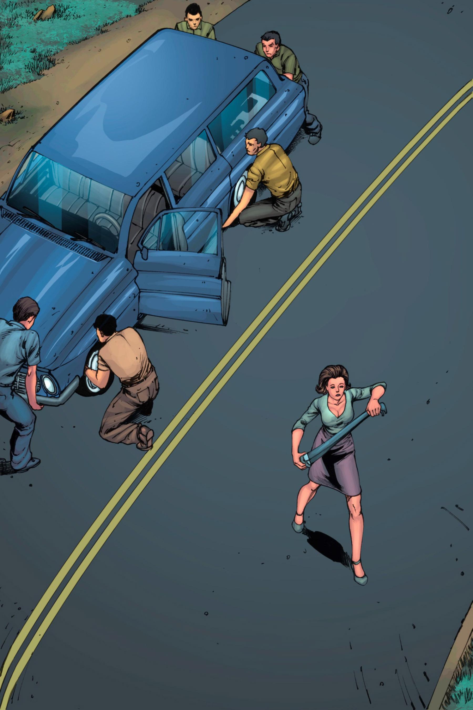 Read online Z-Men comic -  Issue #3 - 41
