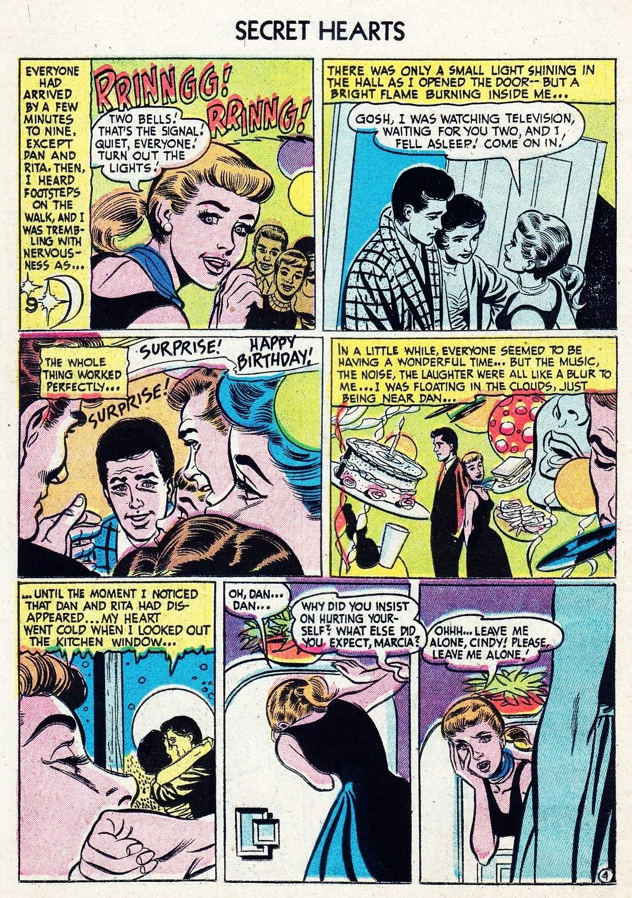 Read online Secret Hearts comic -  Issue #29 - 14