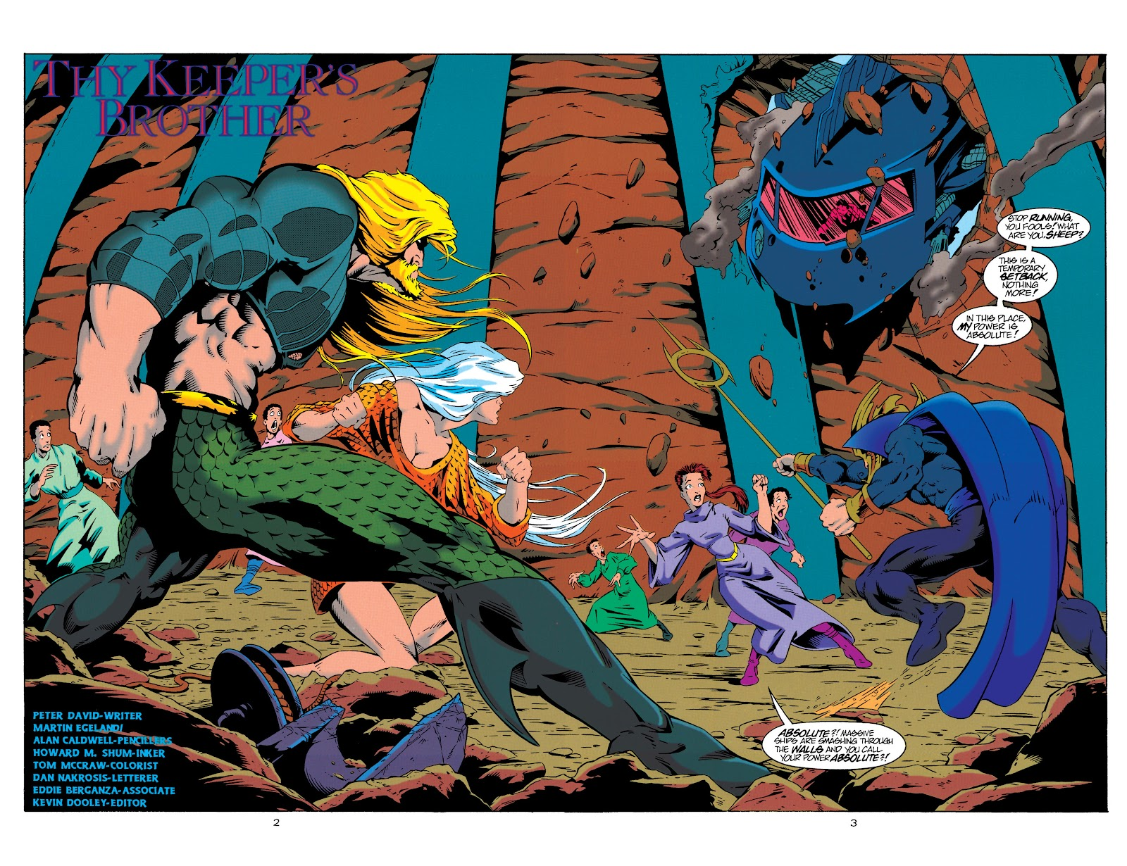 Aquaman (1994) Issue #20 #26 - English 3
