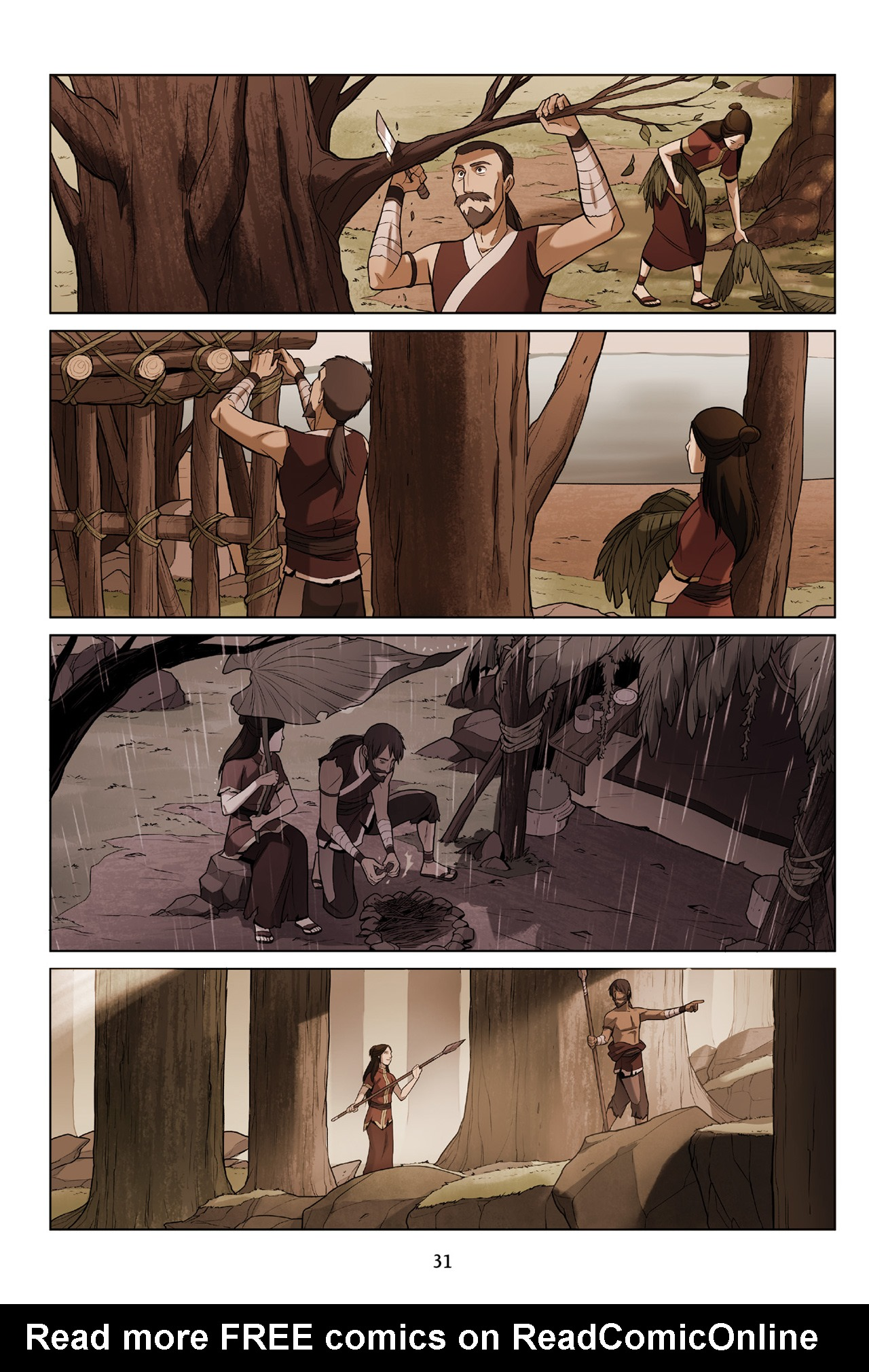 Read online Nickelodeon Avatar: The Last Airbender - The Search comic -  Issue # Part 3 - 32