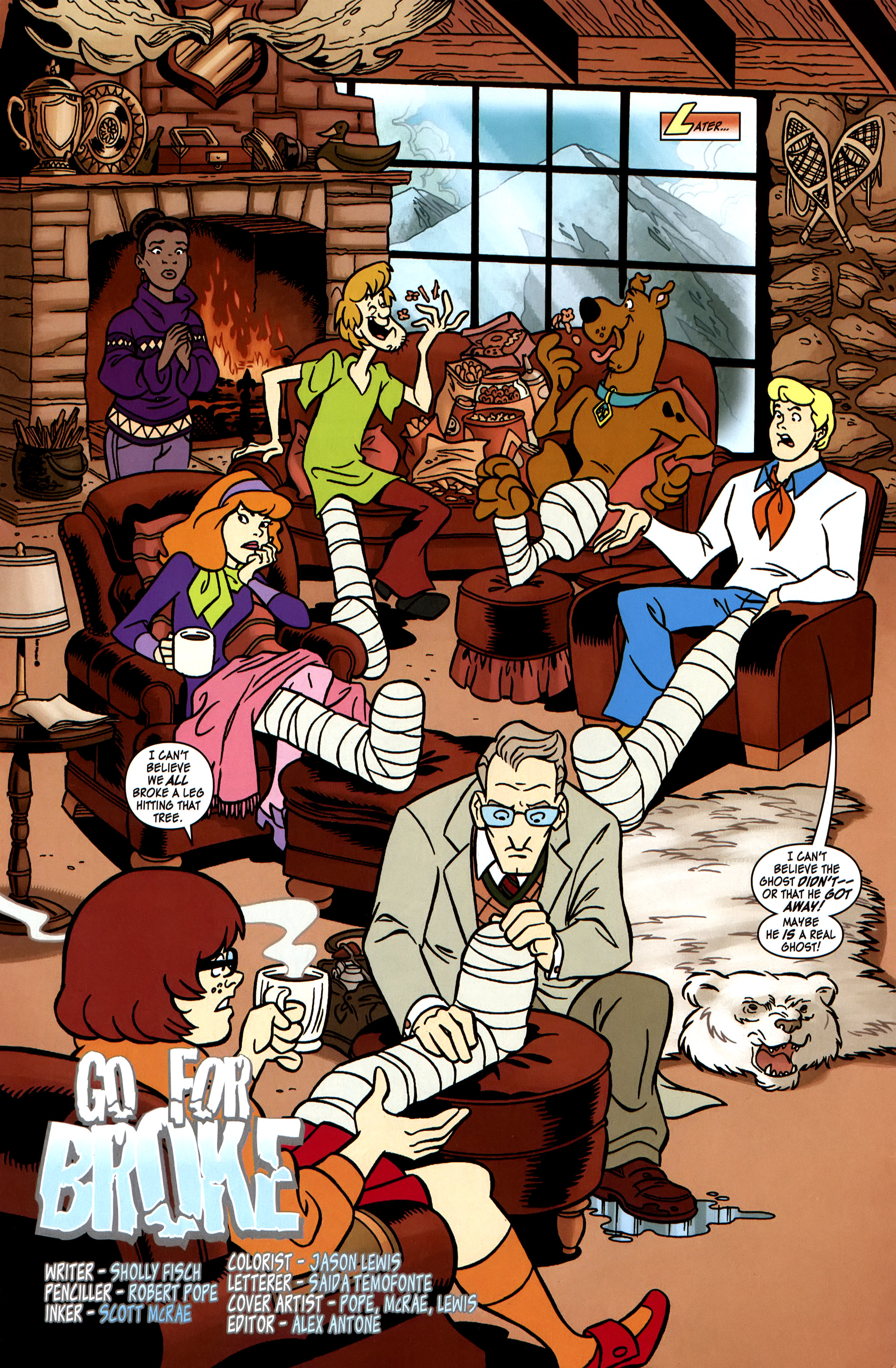 Read online Scooby-Doo: Where Are You? comic -  Issue #31 - 4