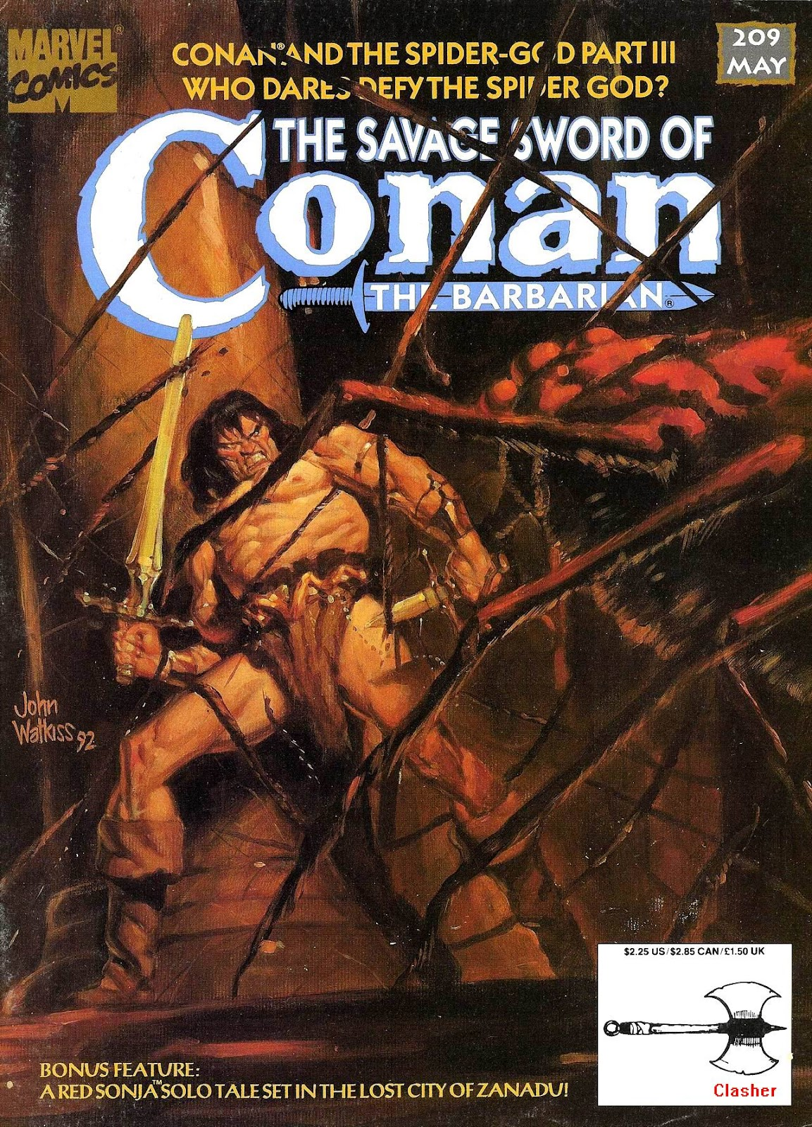 The Savage Sword Of Conan Issue #209 #210 - English 1
