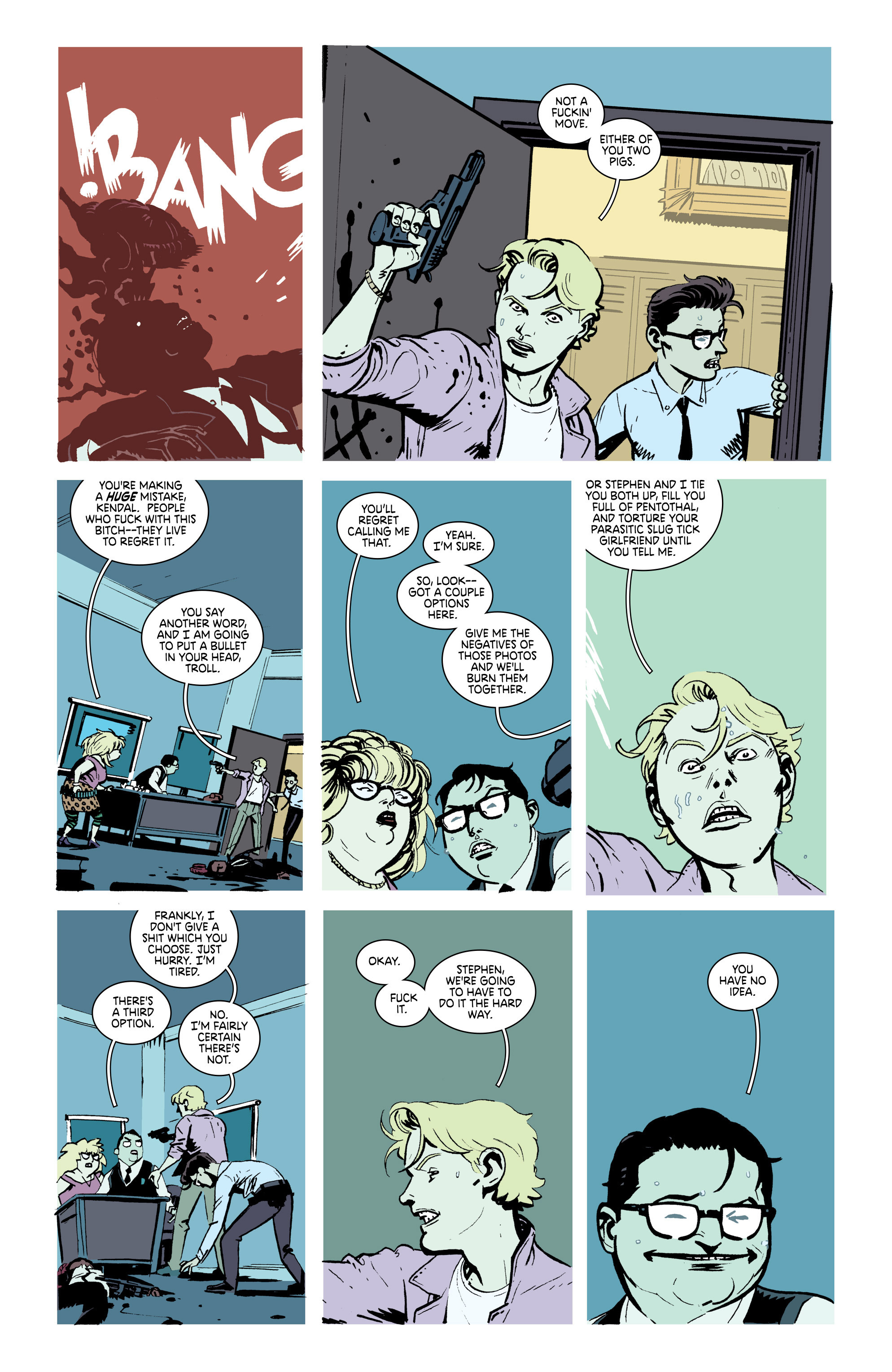 Read online Deadly Class comic -  Issue #21 - 13