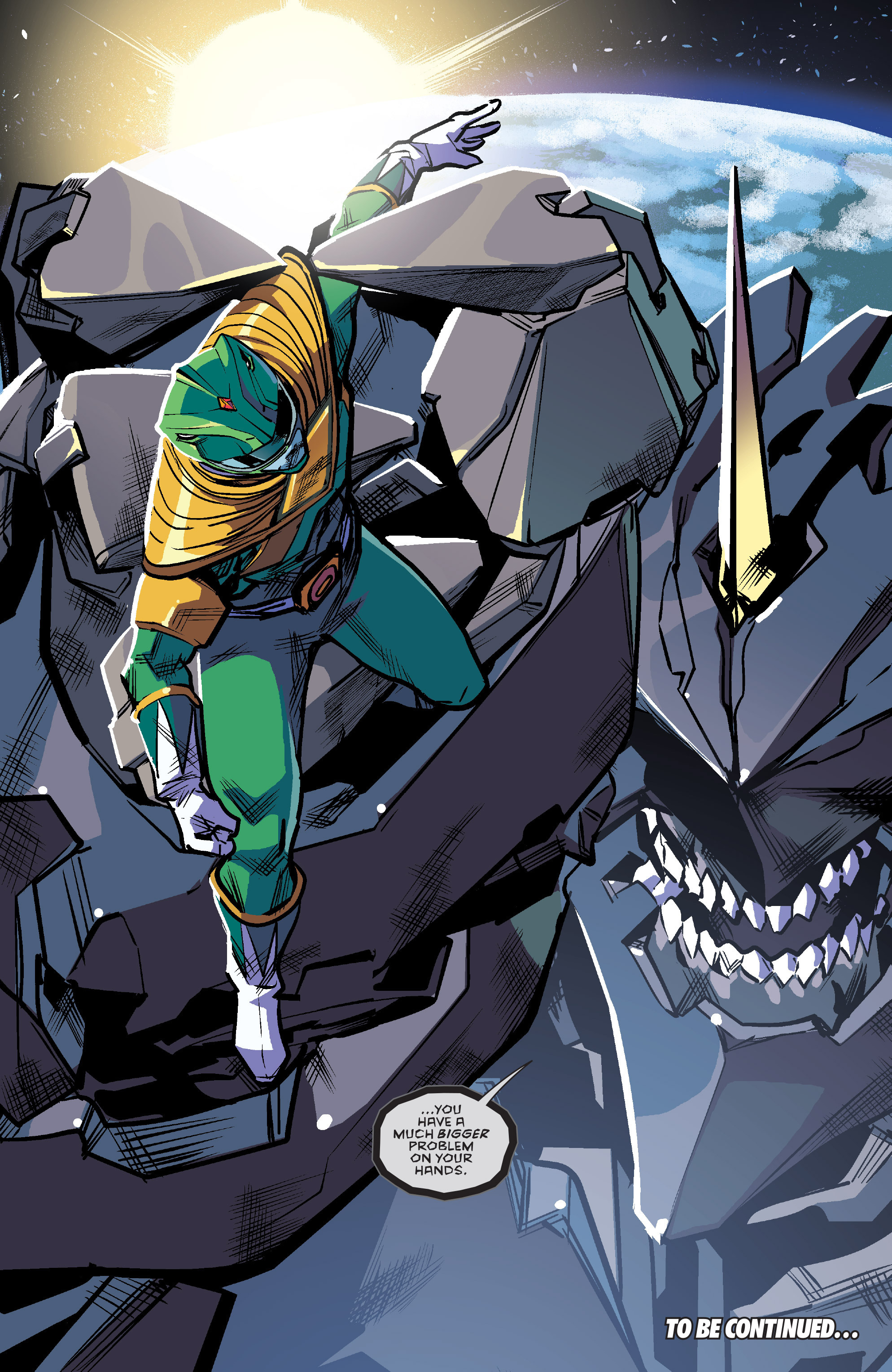 Read online Mighty Morphin Power Rangers comic -  Issue #7 - 22