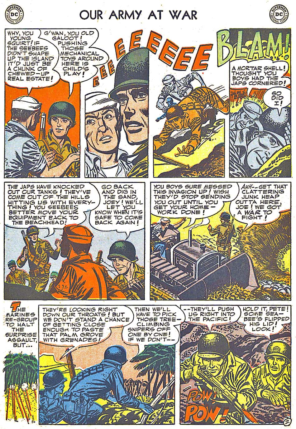 Our Army at War (1952) #1 #301 - English 30