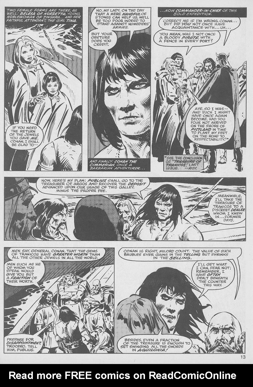 The Savage Sword Of Conan Issue #49 #50 - English 13